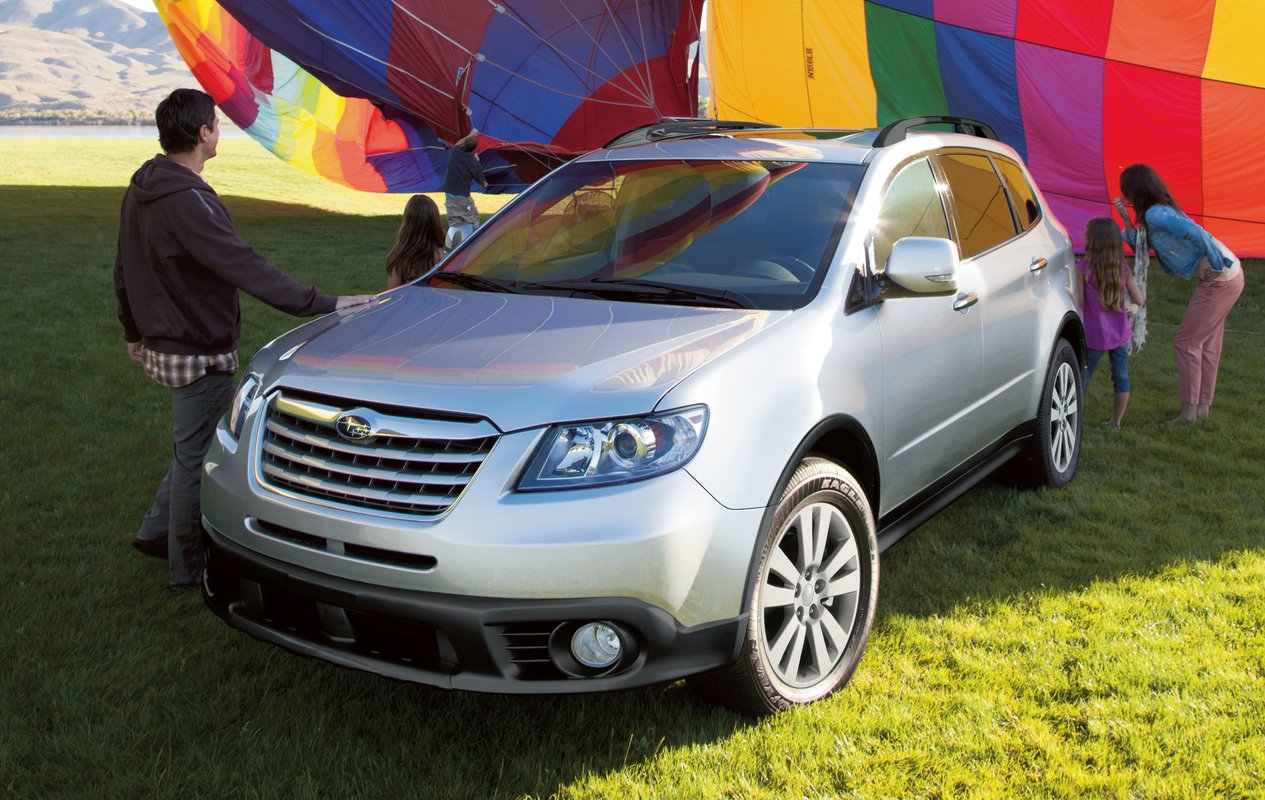 2014 subaru tribeca review ratings specs prices and photos the car connection. Black Bedroom Furniture Sets. Home Design Ideas