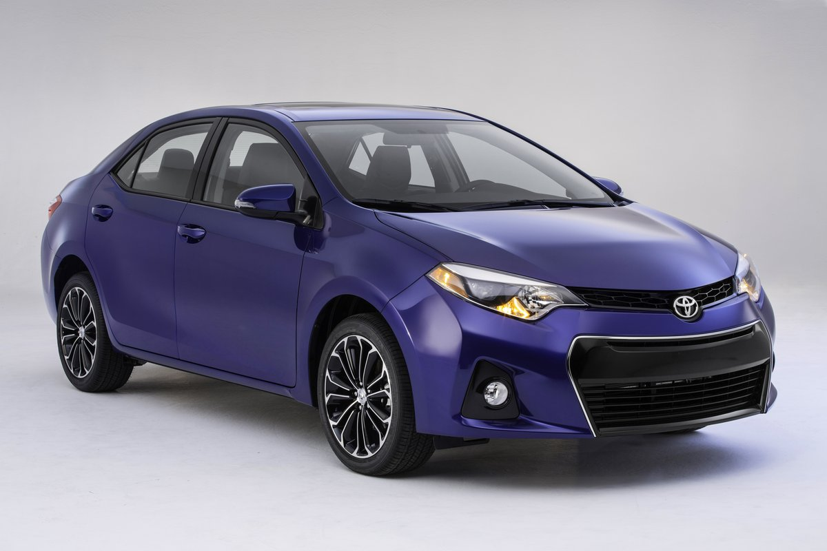 Toyota Corolla Mpg >> New 2014 Toyota Corolla Unveiled Eco Model Aims At 40 Mpg Highway