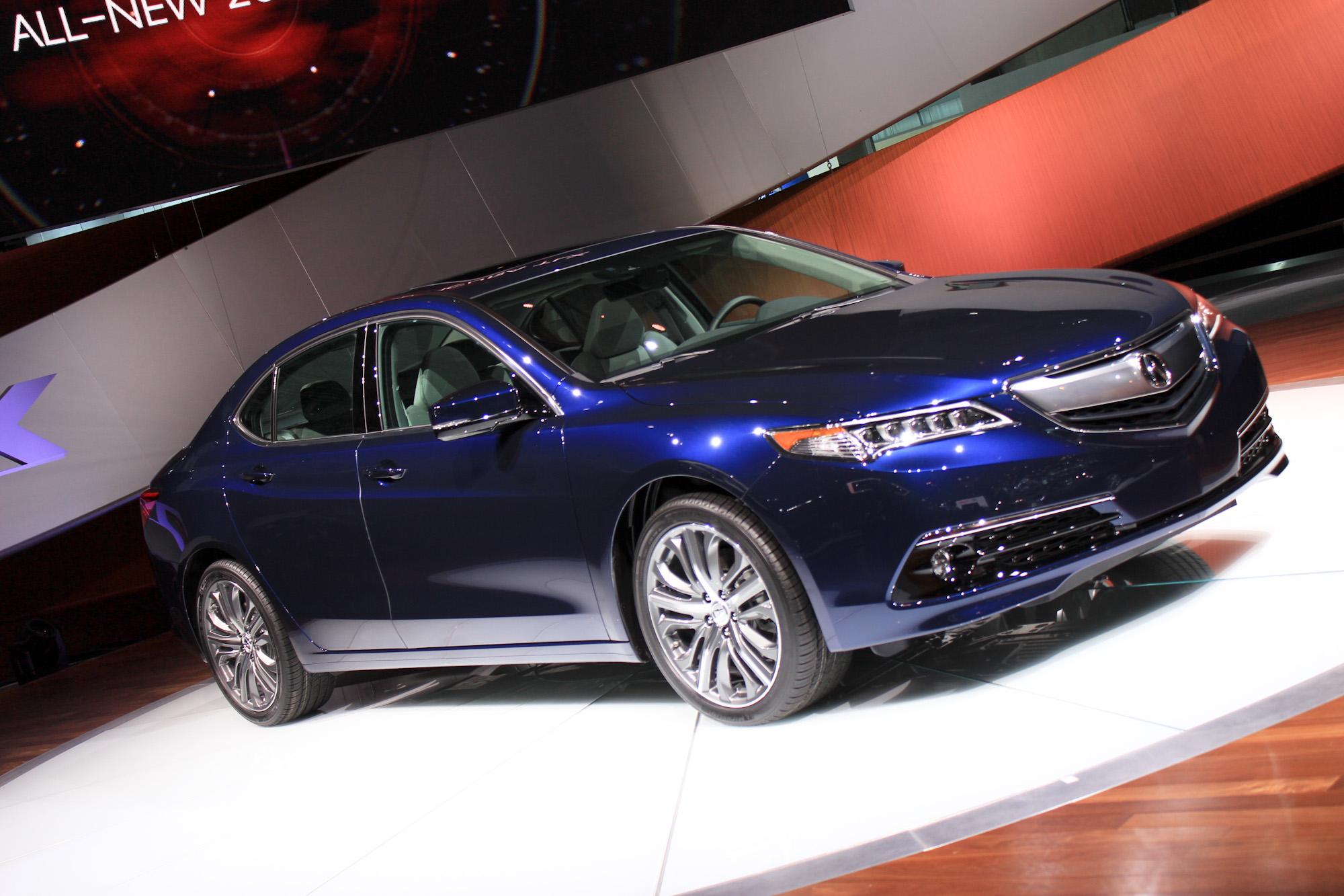 2015 Acura Tlx Tech >> 2015 Acura TLX: 2014 New York Auto Show Live Photos