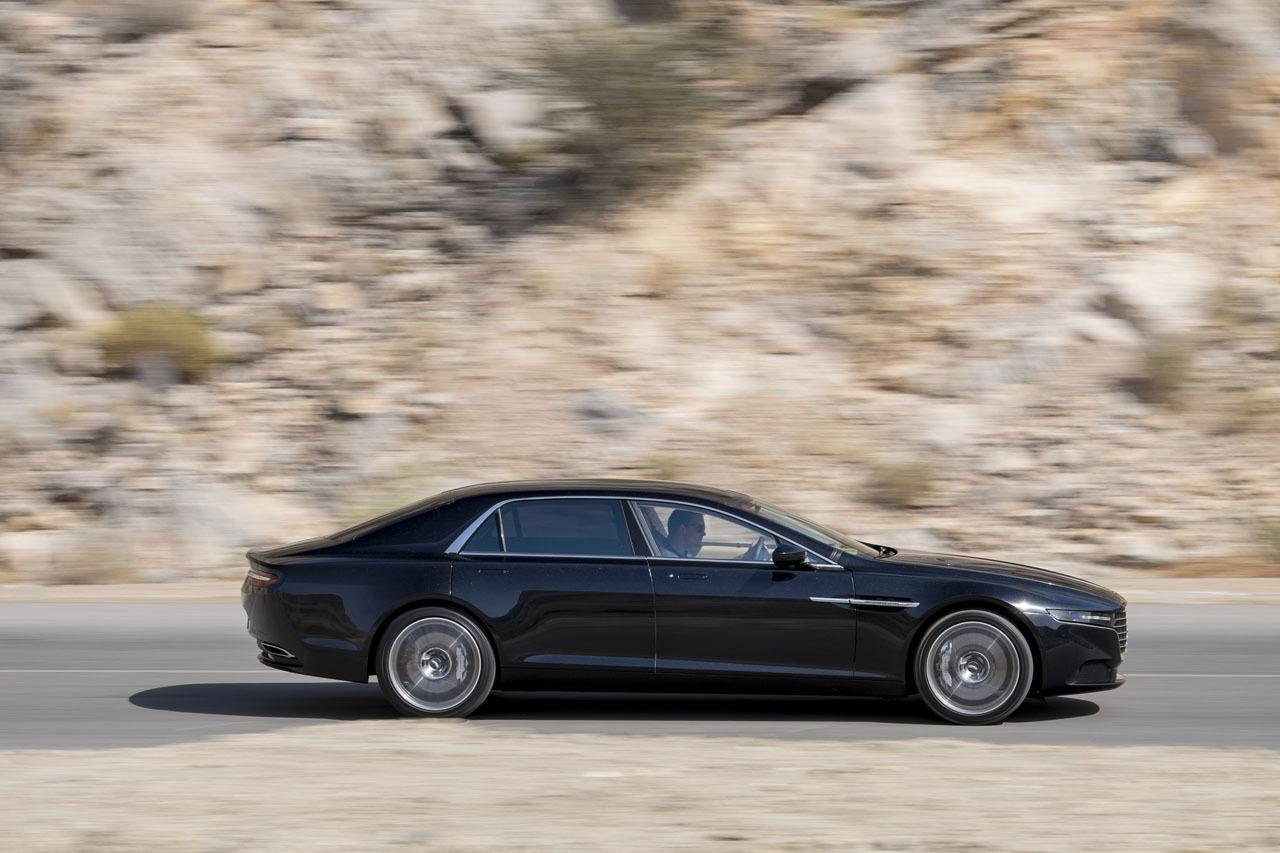 2015 Aston Martin Lagonda sedan revealed