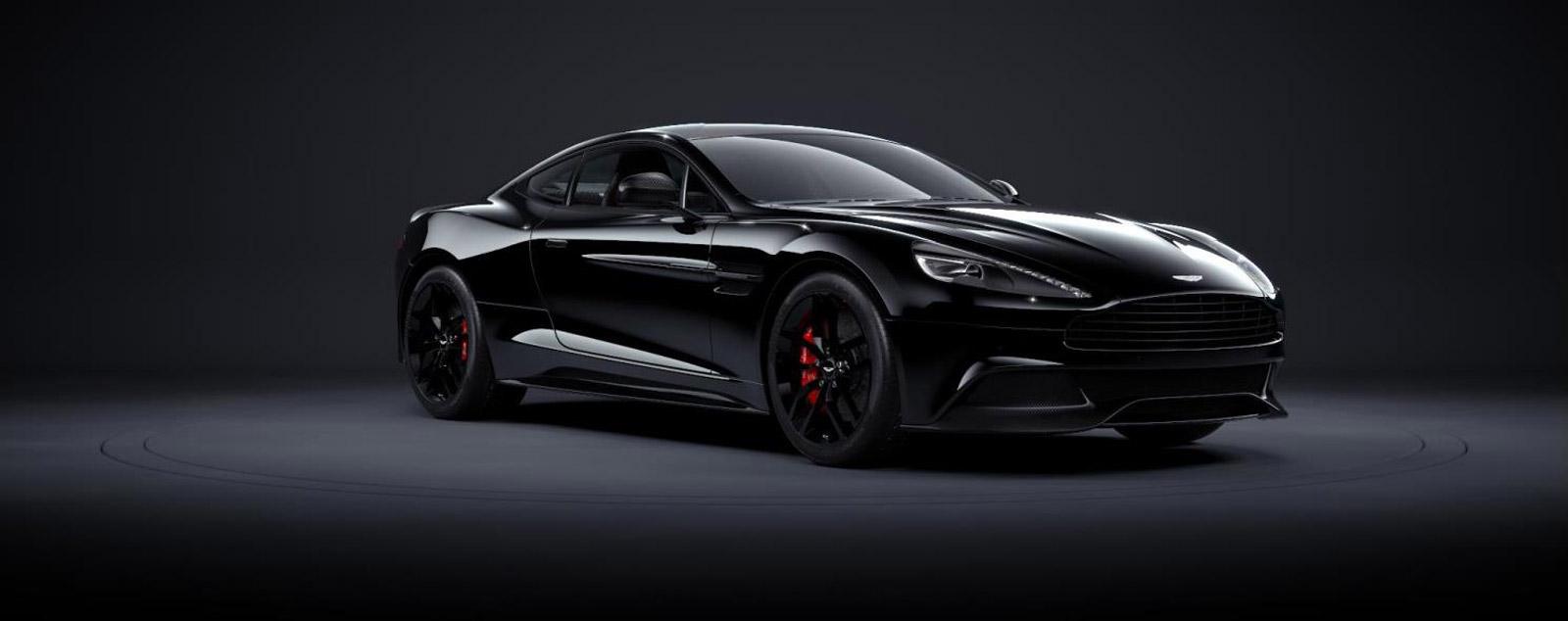 2015 Aston Martin Vanquish Gets Carbon Special Edition ...