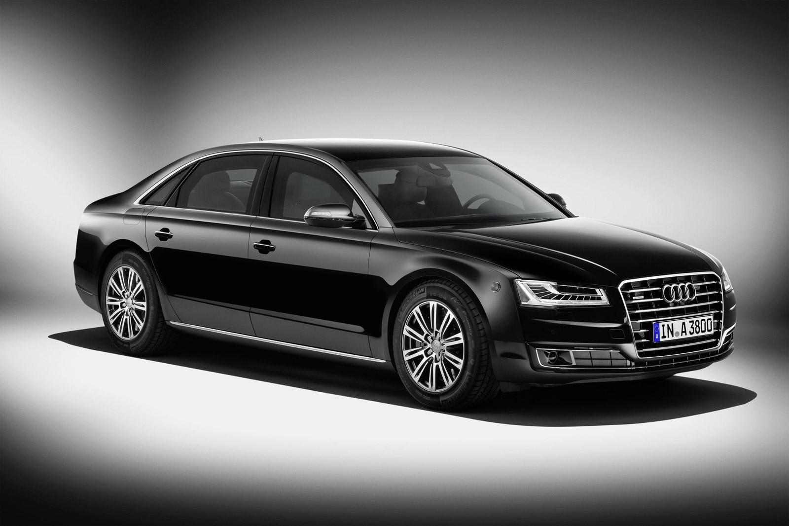 Audi Rolls Out 2015 A8 L Security