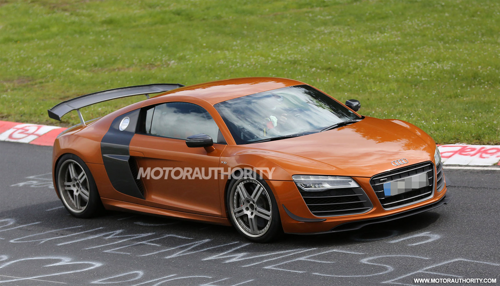 Audi R GT Sport Spy Shots - Audi r8 gt
