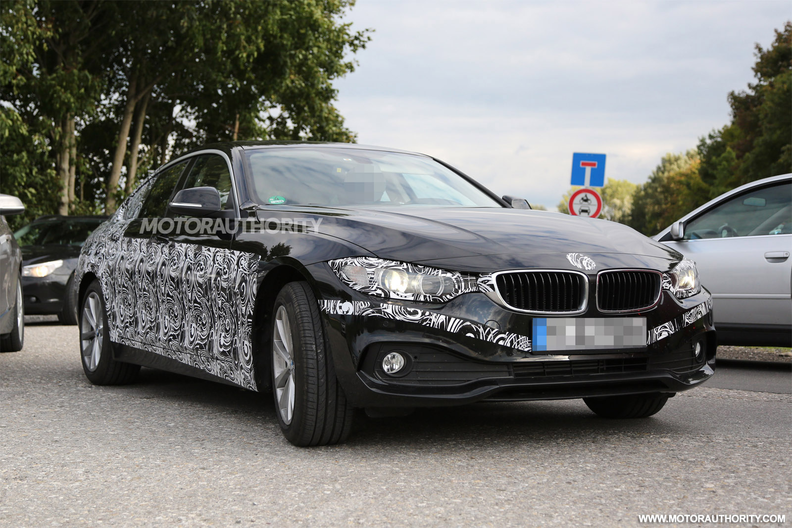 2015 BMW 4 Series Gran Coupe Spy Video