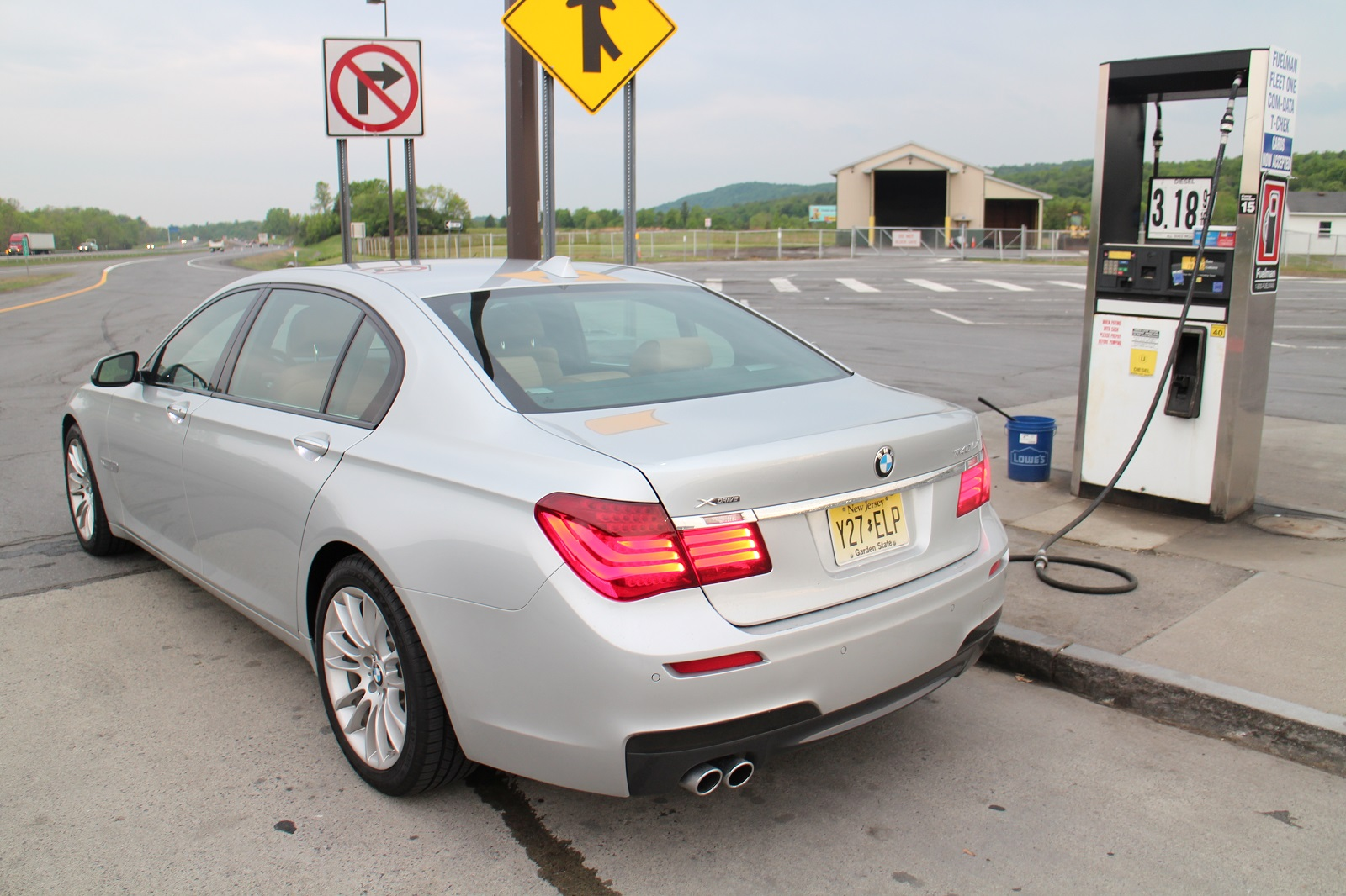2015 BMW 740Ld xDrive Diesel Fuel Economy Review
