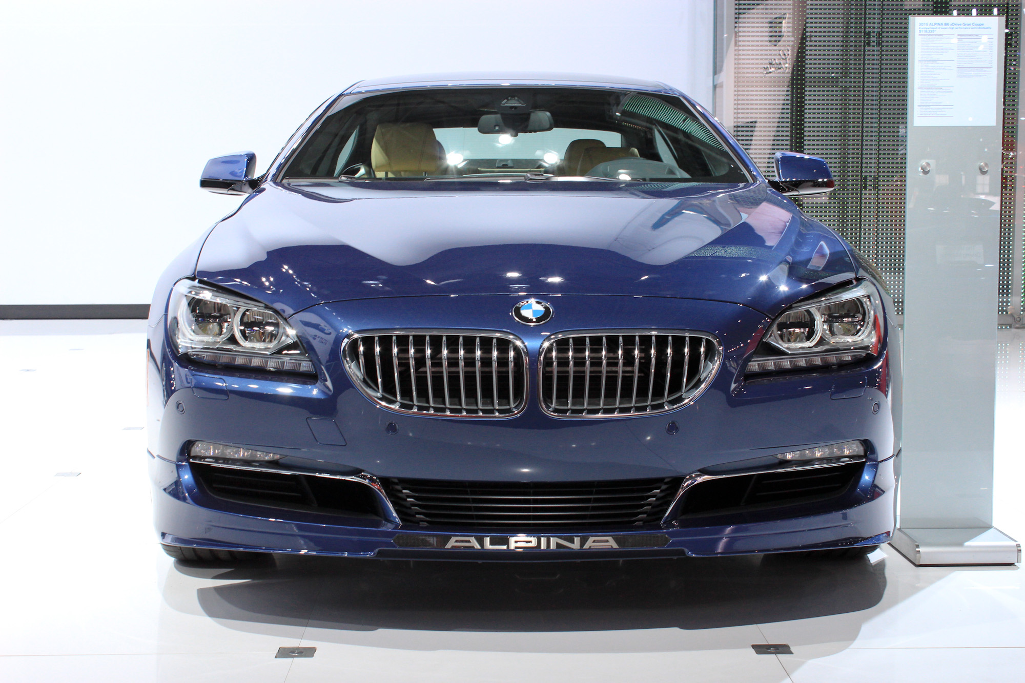 2017 Bmw Alpina B6 Xdrive Gran Coupe New York Auto Show Live Photos