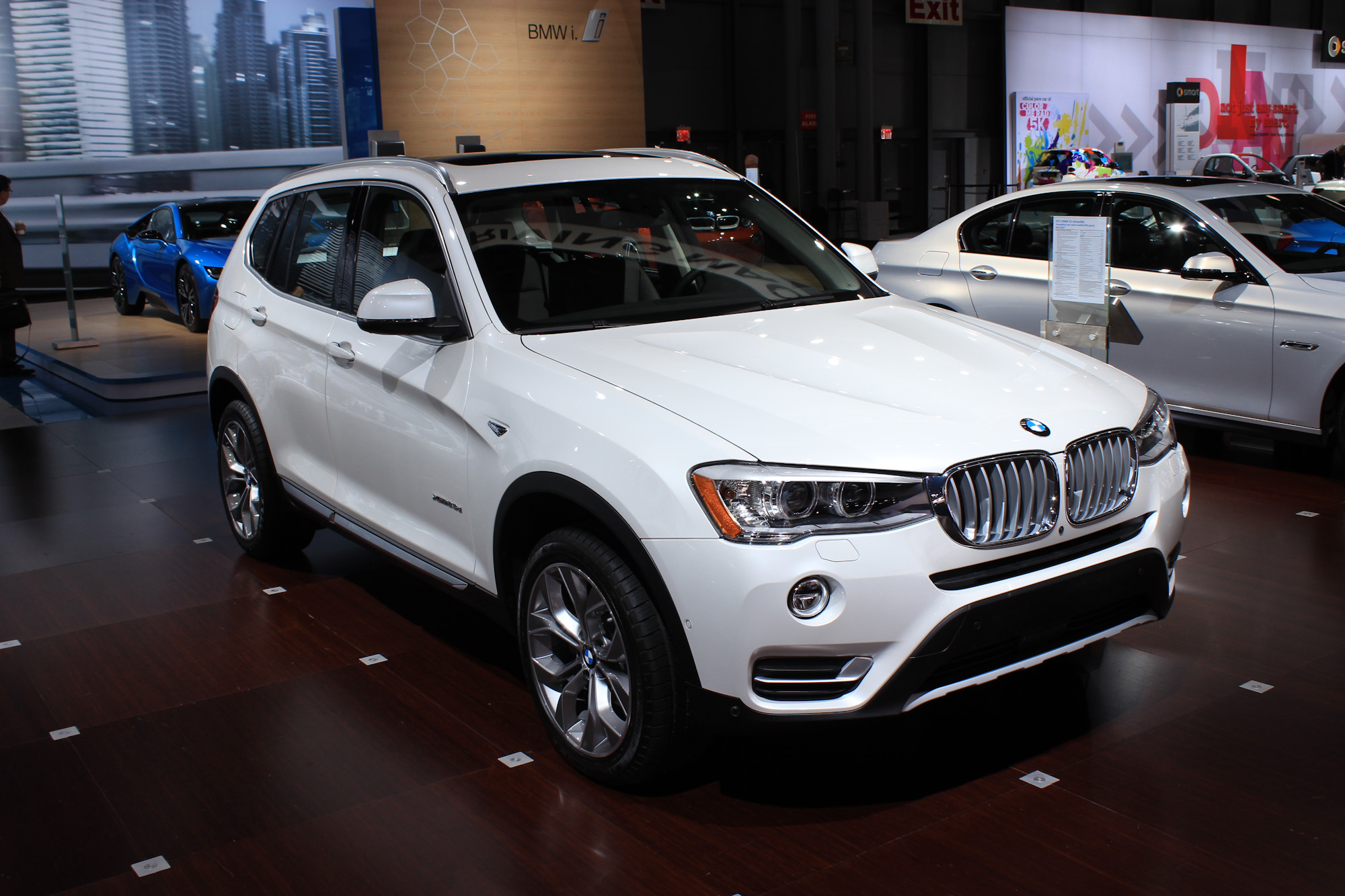 2015 BMW X3 Live From The 2014 New York Auto Show