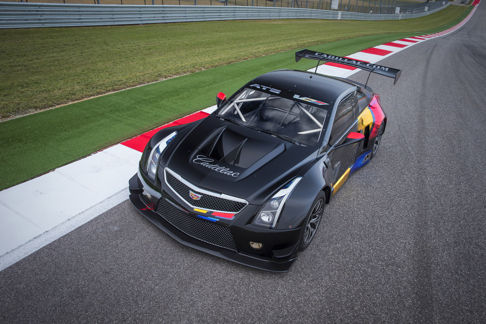 2016 cadillac ats v coupe spawns gt3 spec race car video. Black Bedroom Furniture Sets. Home Design Ideas