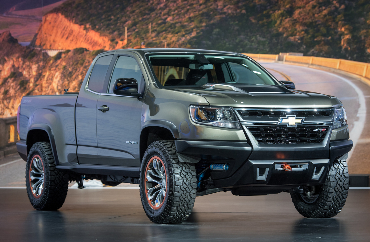 2015 Chevy Colorado Wiring Real Diagram Chevrolet Diesel Powered Zr2 Concept Crawls Into L A Rh Motorauthority Com