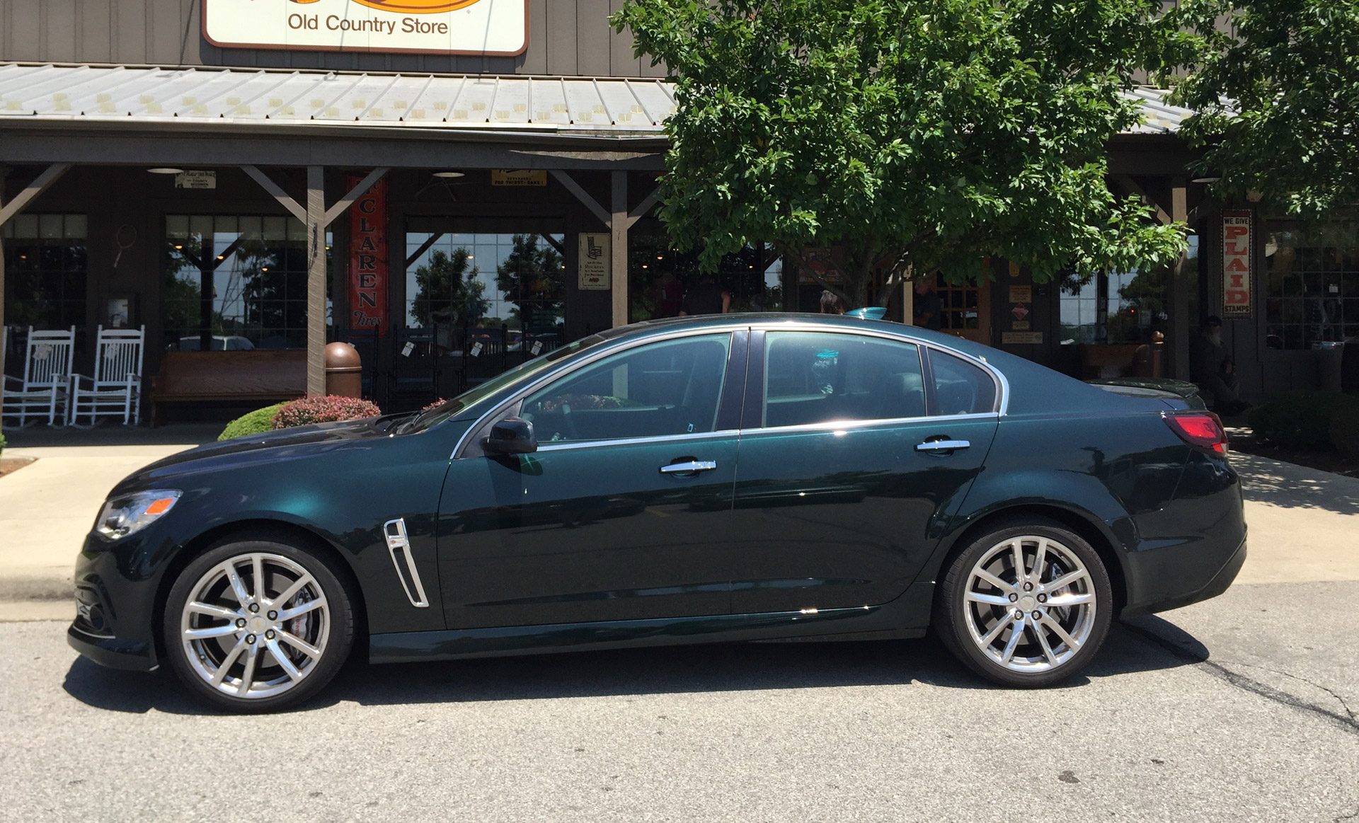 Notes From The Driveway: 2015 Chevrolet SS