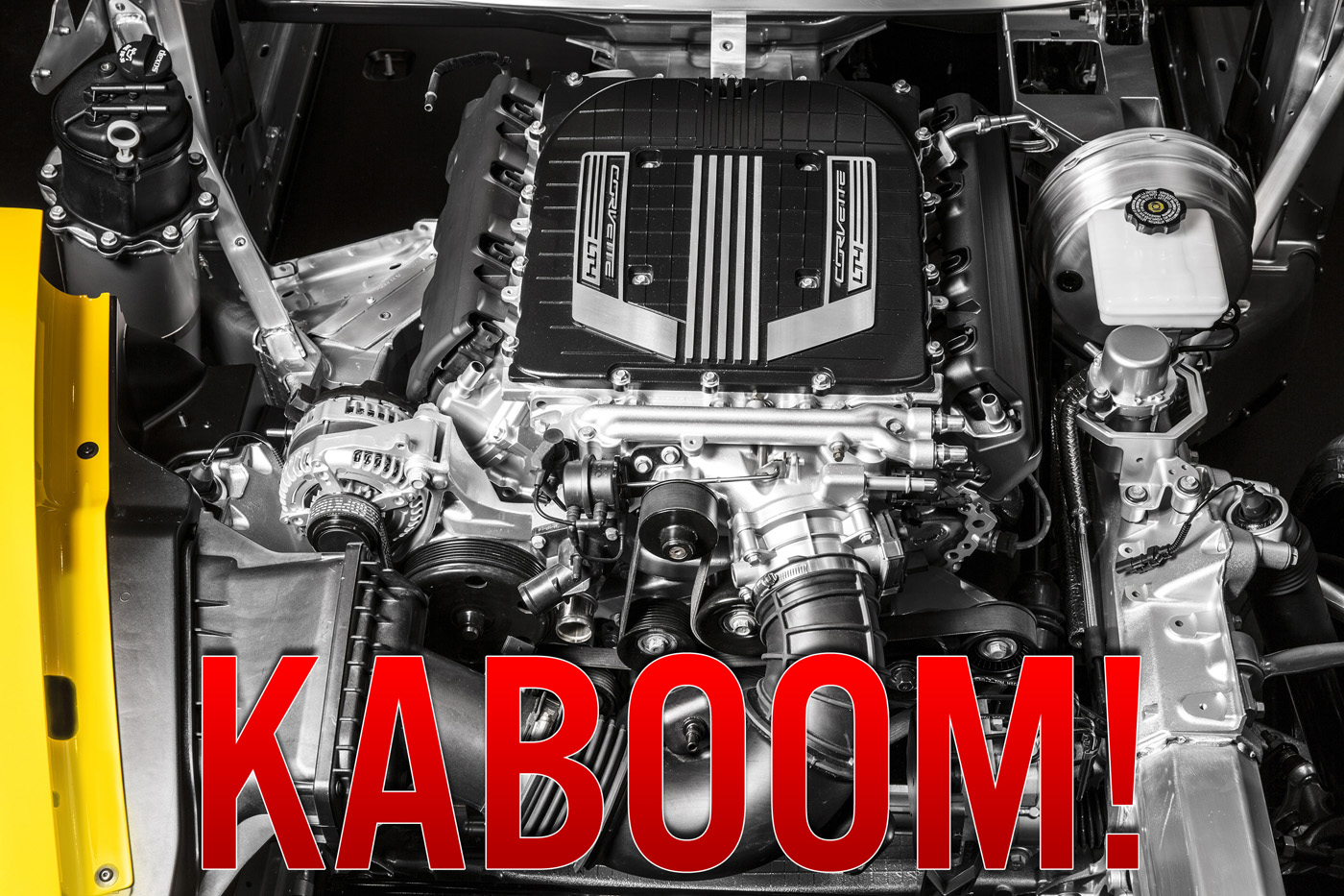 First 2015 Chevy Corvette Z06 Engine Destroyed With Just 891 Miles On The Clock