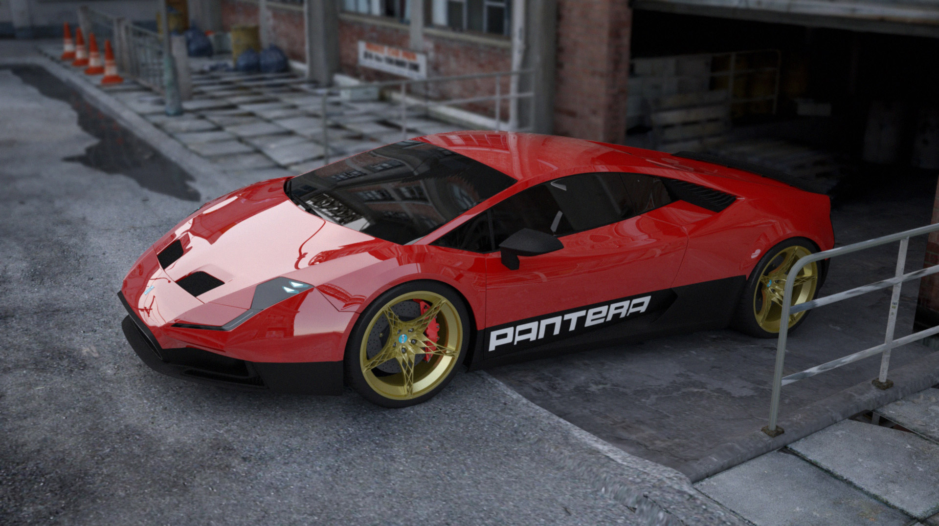 Designer Envisions A Modern De Tomaso Pantera