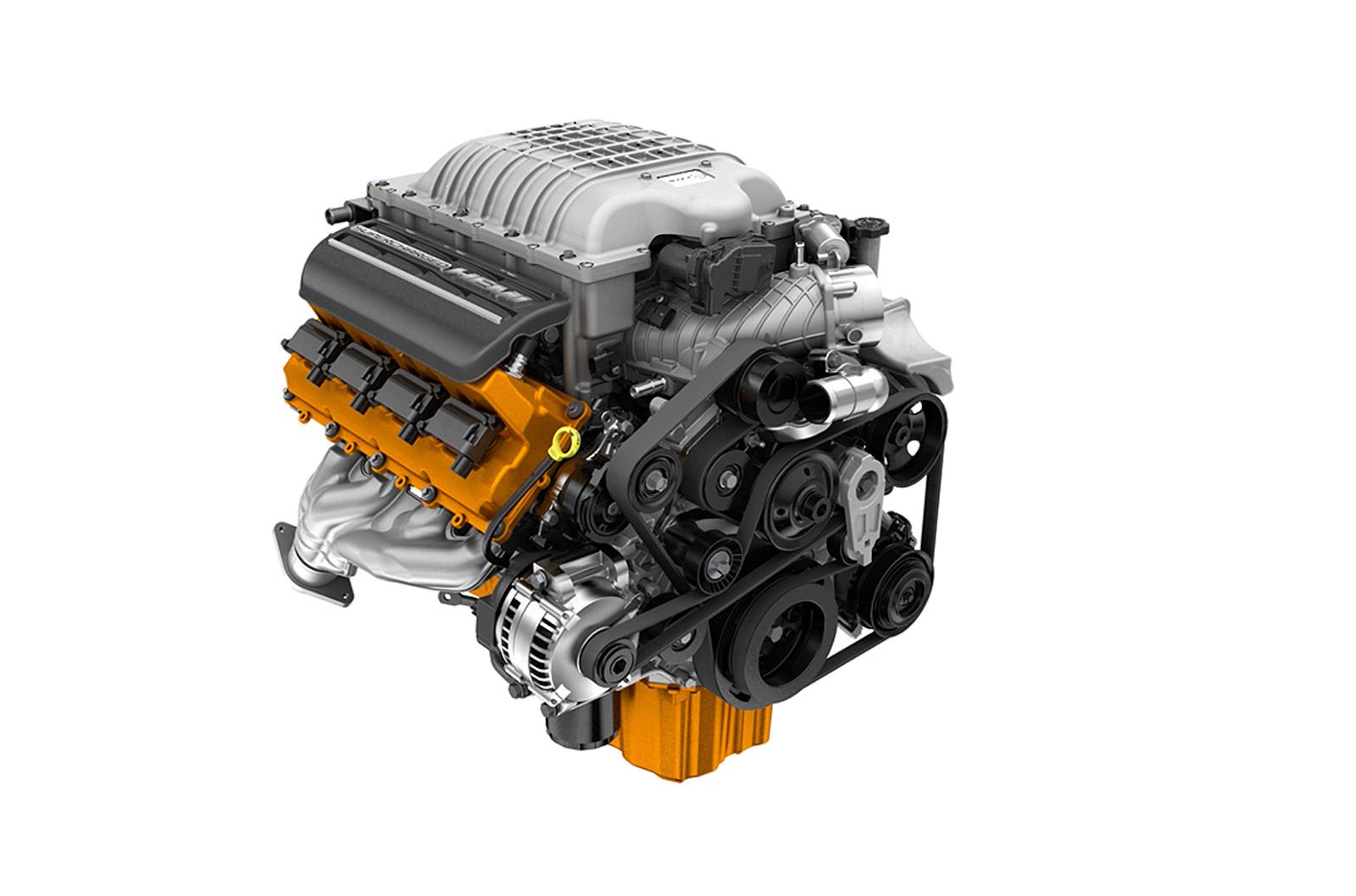 Dodge Drops More Photos And Specs For 2015 Challenger Srt Hellcat 3 Liter Engine Diagram