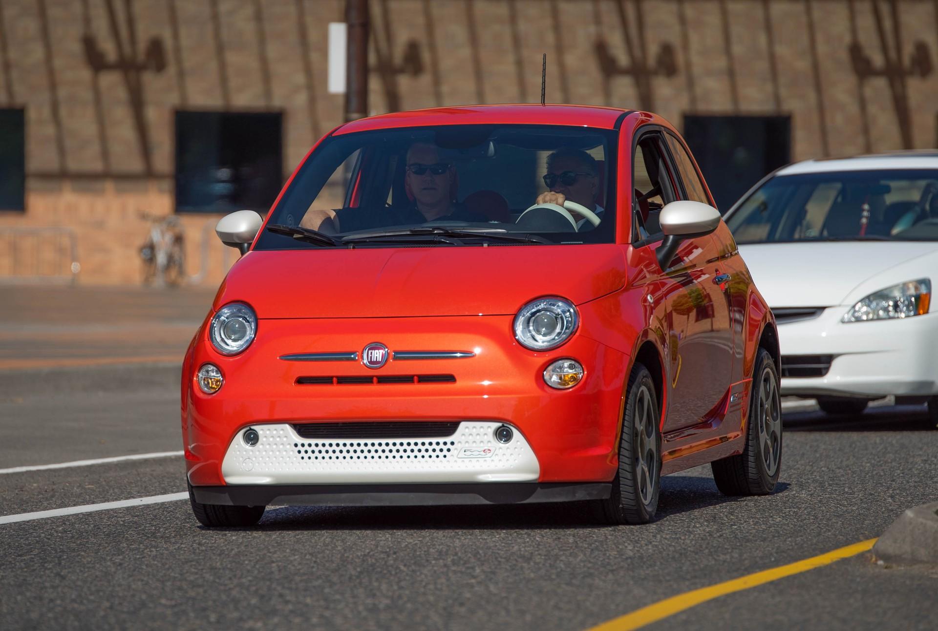 Fiat 500e torque