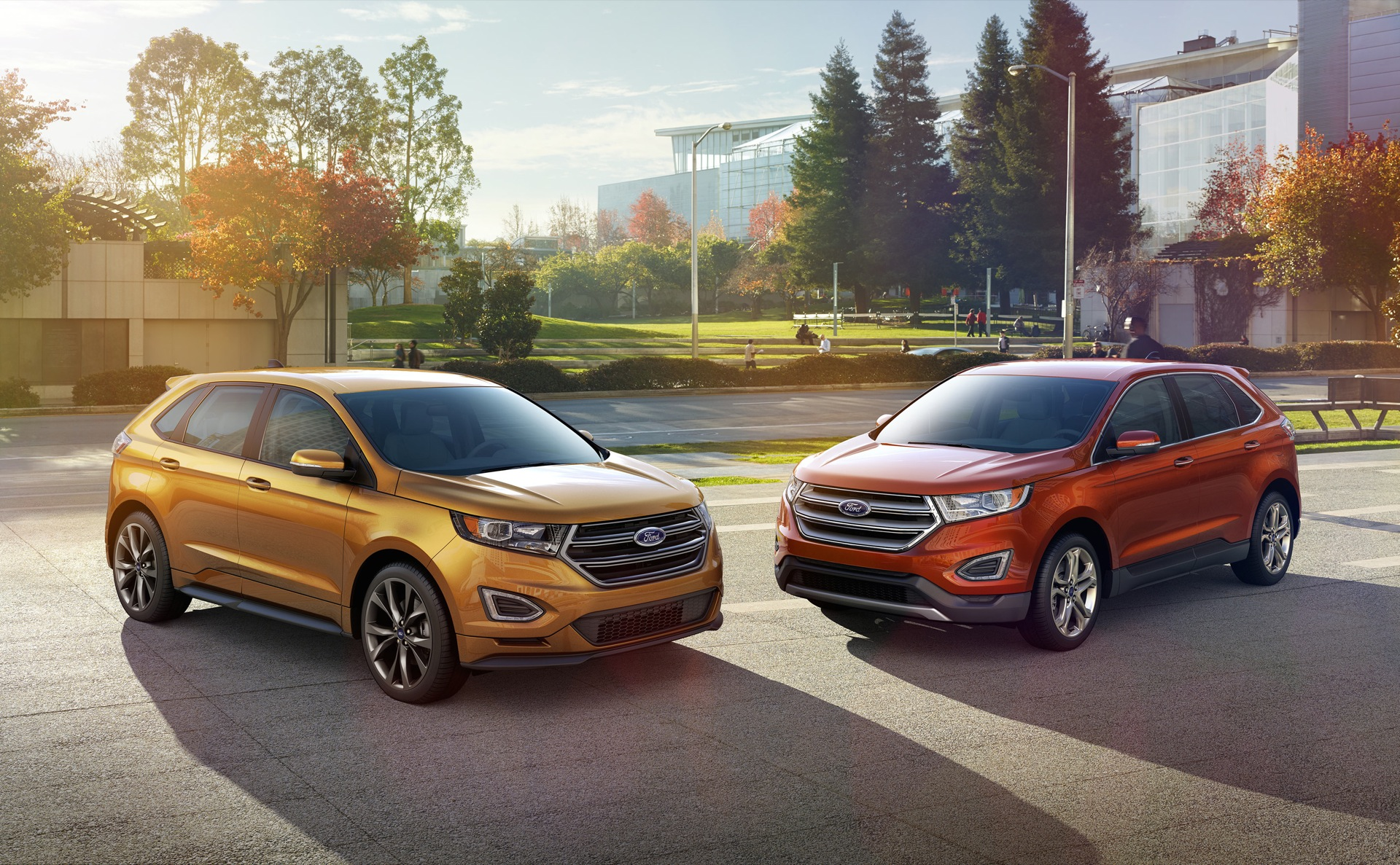 Ford Edge Vs Escape >> 2015 Ford Edge First Drive
