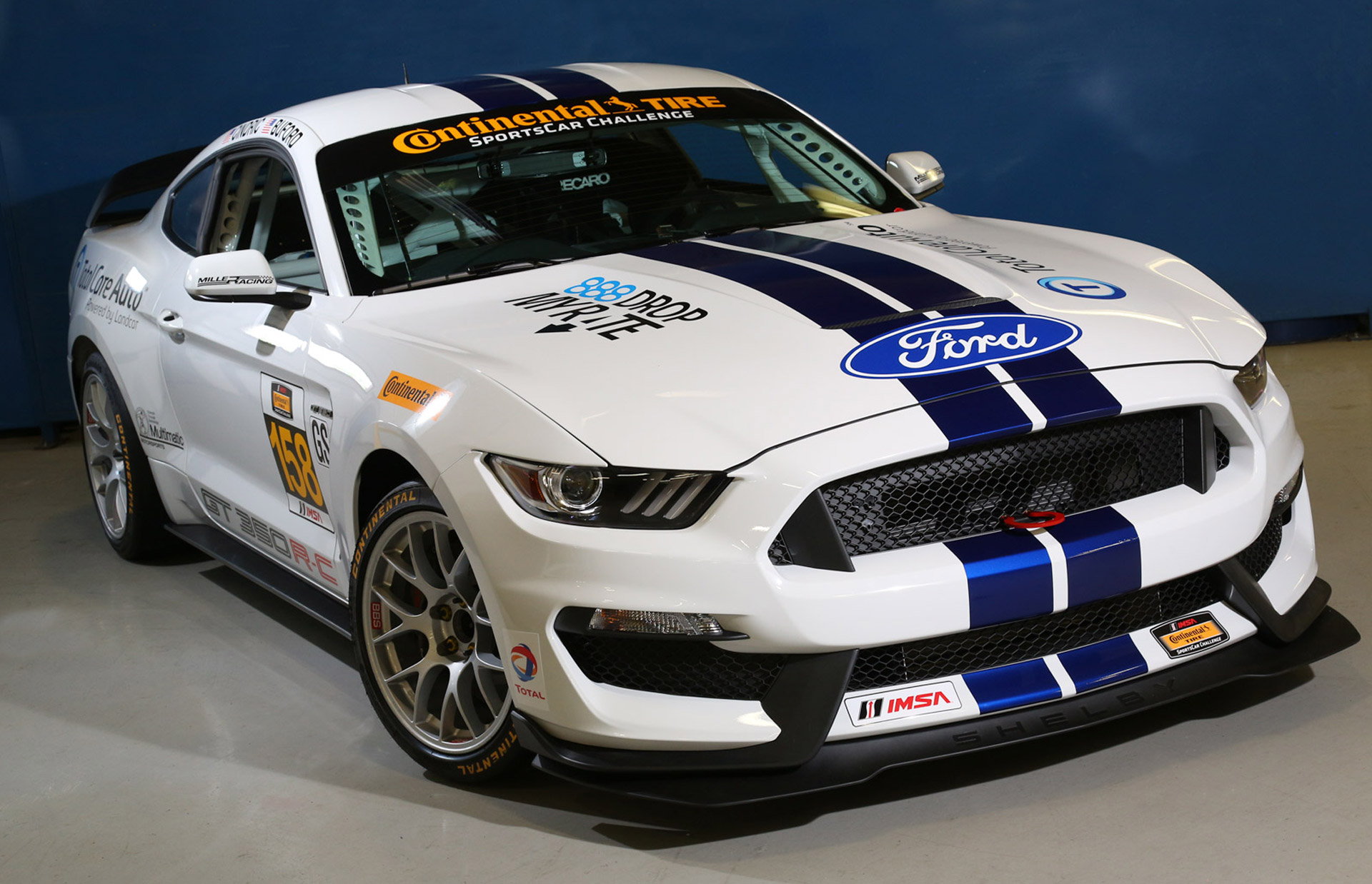 Gt350r Review >> 2015 Ford Mustang Shelby GT350R-C Race Car Revealed
