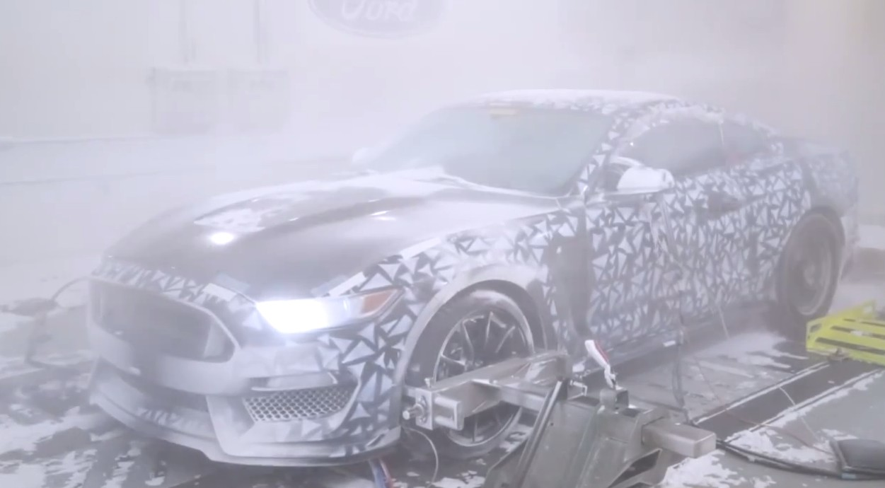 Ford Climate Tests The 2015 Mustang: Video