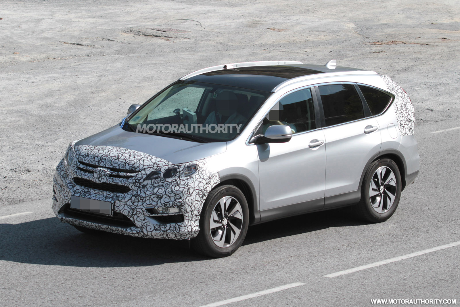 honda cr  spy shots