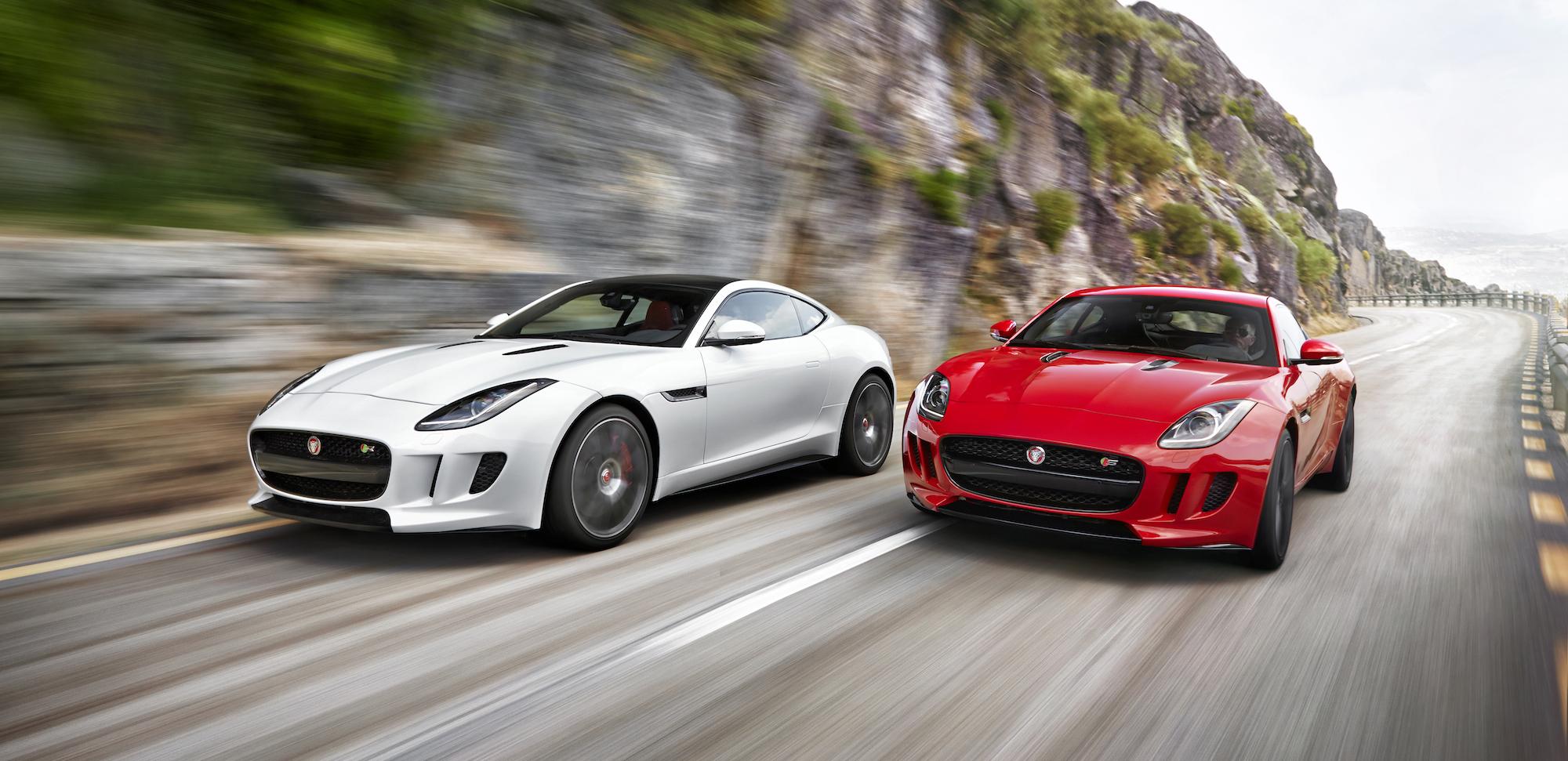Porsche macan jaguar f type coupe 2015 mustang debut date car news headlines