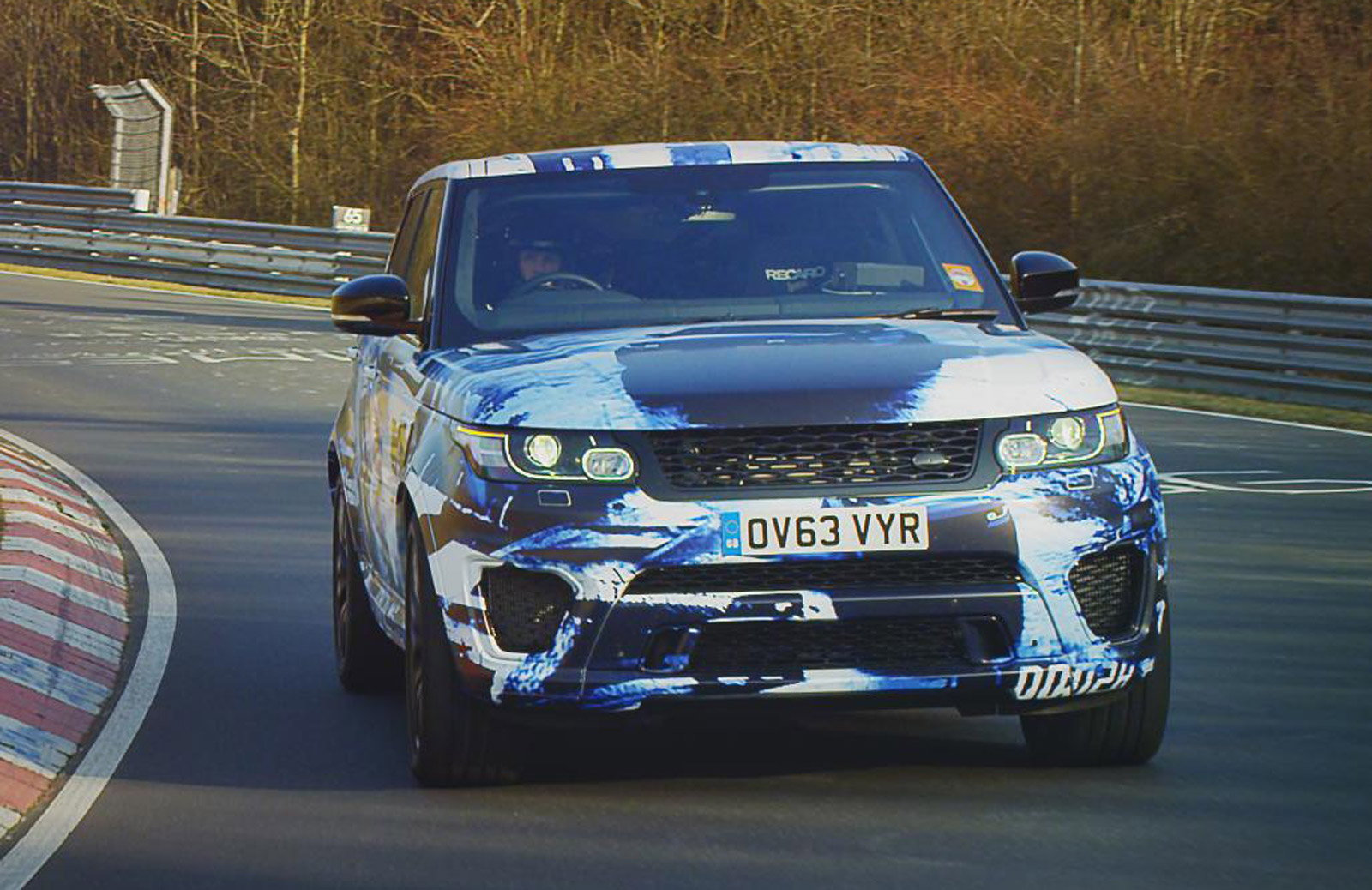 2015 Range Rover Sport SVR Claims Fastest Production SUV \'Ring Time