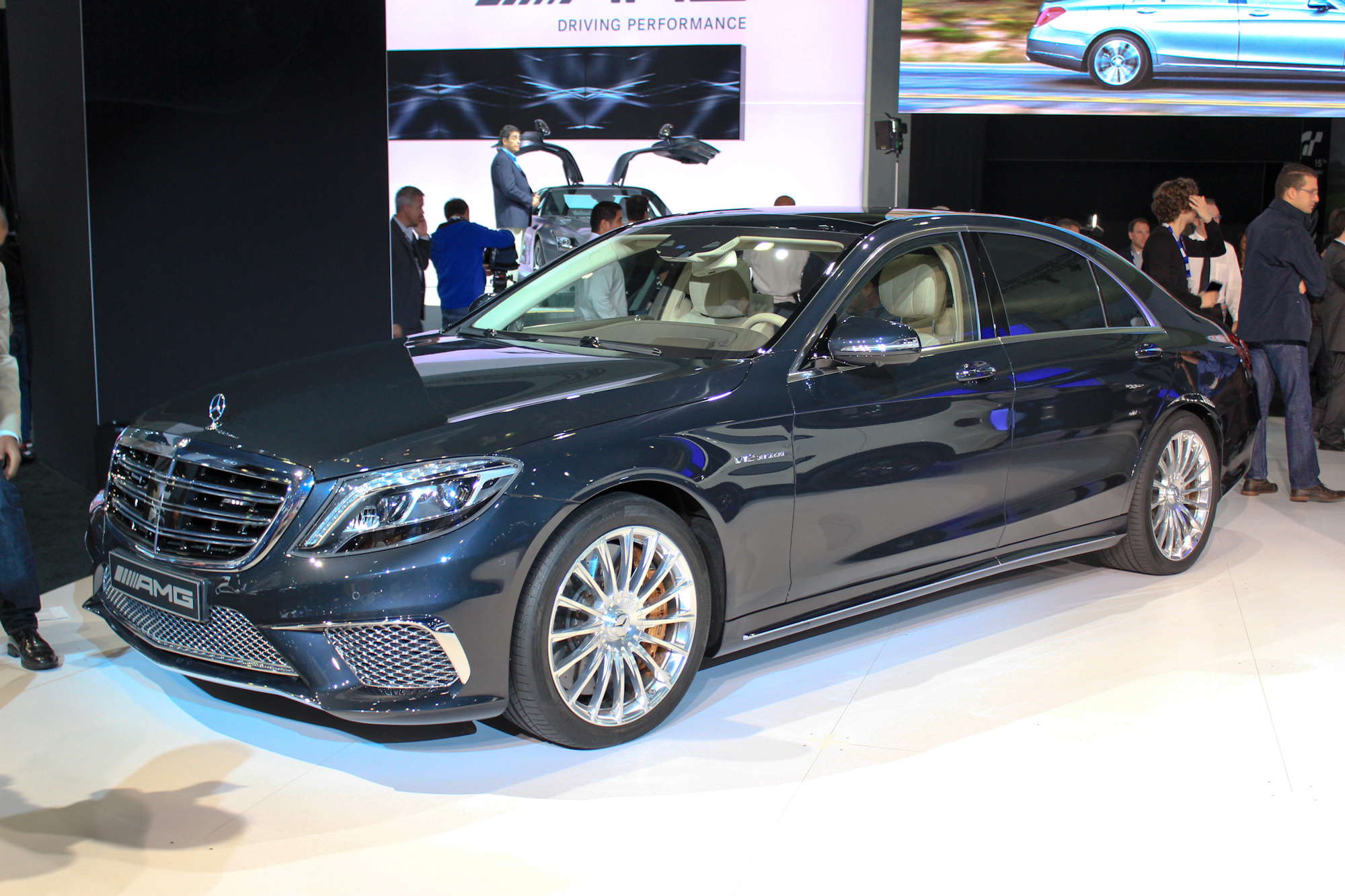Mercedes Benz S Amg Los Angeles Auto Show H