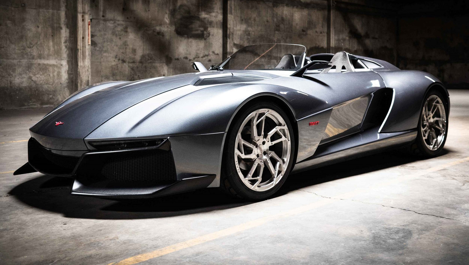 500-Horsepower Rezvani Beast Revealed In The Carbon Fiber ...