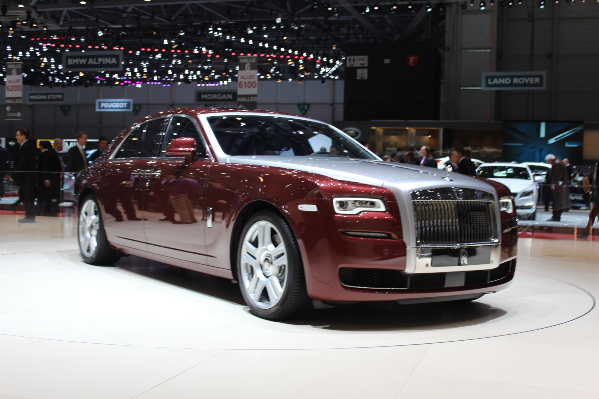Rolls Royce Ghost Series Ii Unveiled In Geneva Live