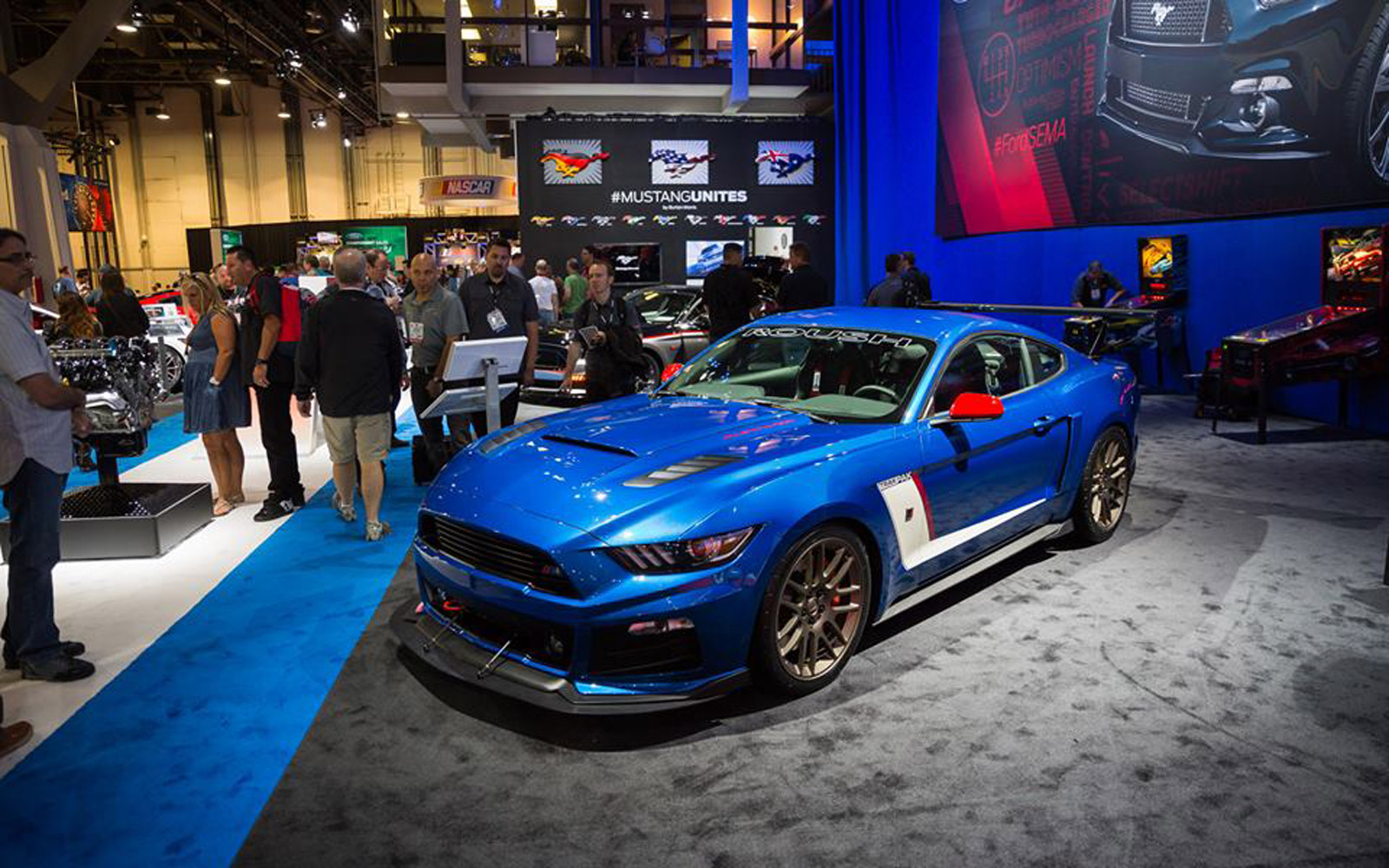 2015 Mustang Ecoboost Modified >> Ford Mustang Once Again Picked SEMA's Hottest Car