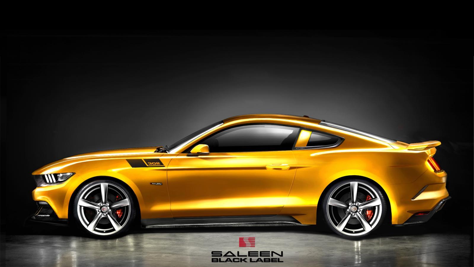 2015 Saleen S302 Mustang Specs Revealed, Order Books Opened