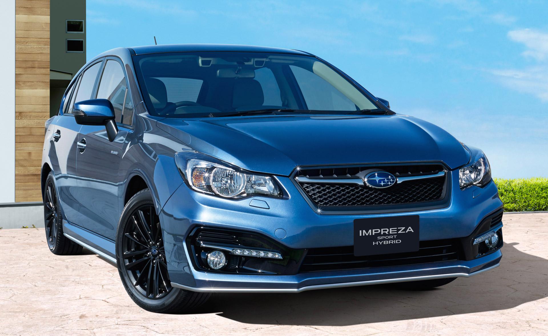Subaru Impreza Sport Hybrid Launches In Japan