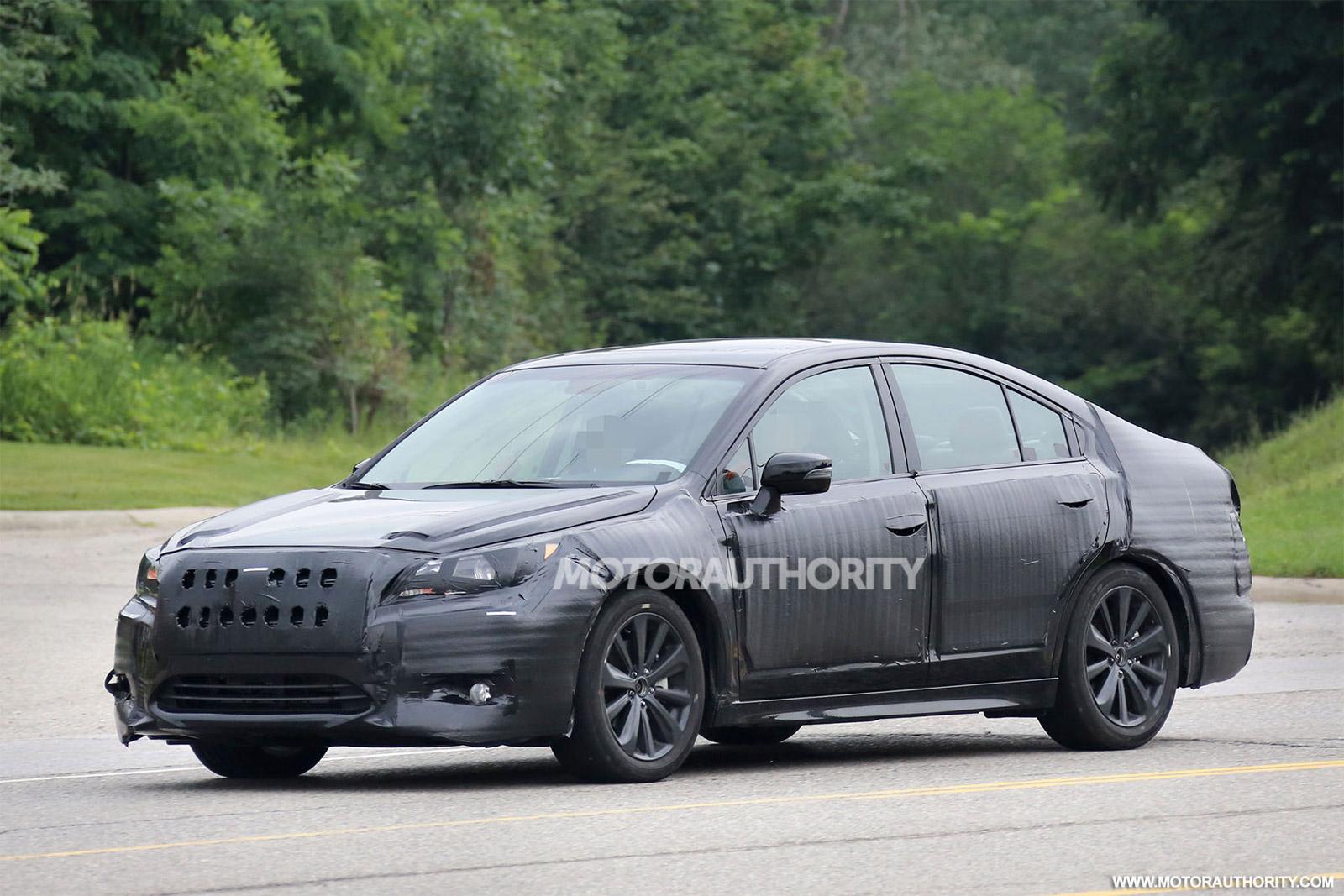 2015 Subaru Legacy Spy Shots