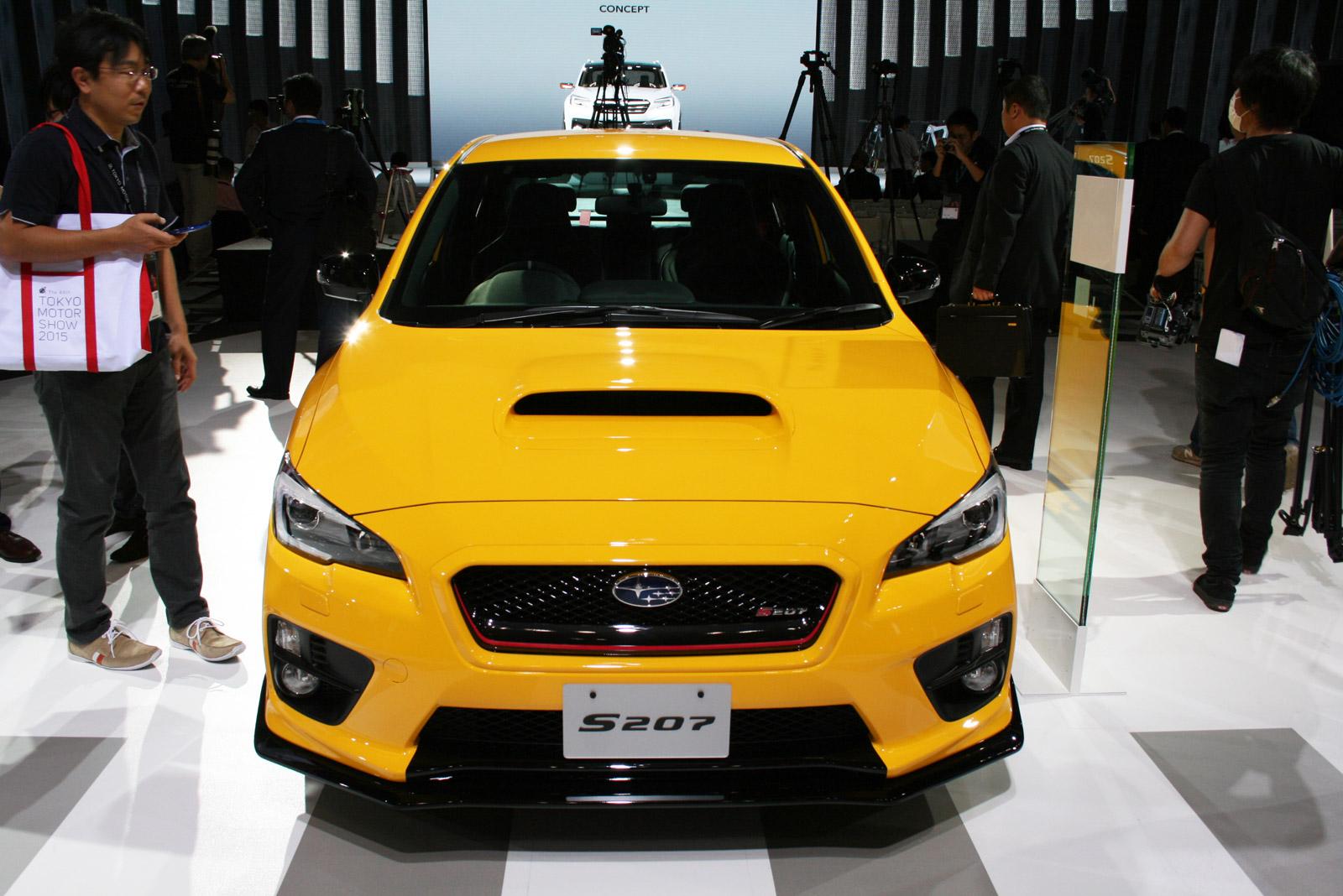 Subaru WRX STI S207 Debuts At 2015 Tokyo Motor Show