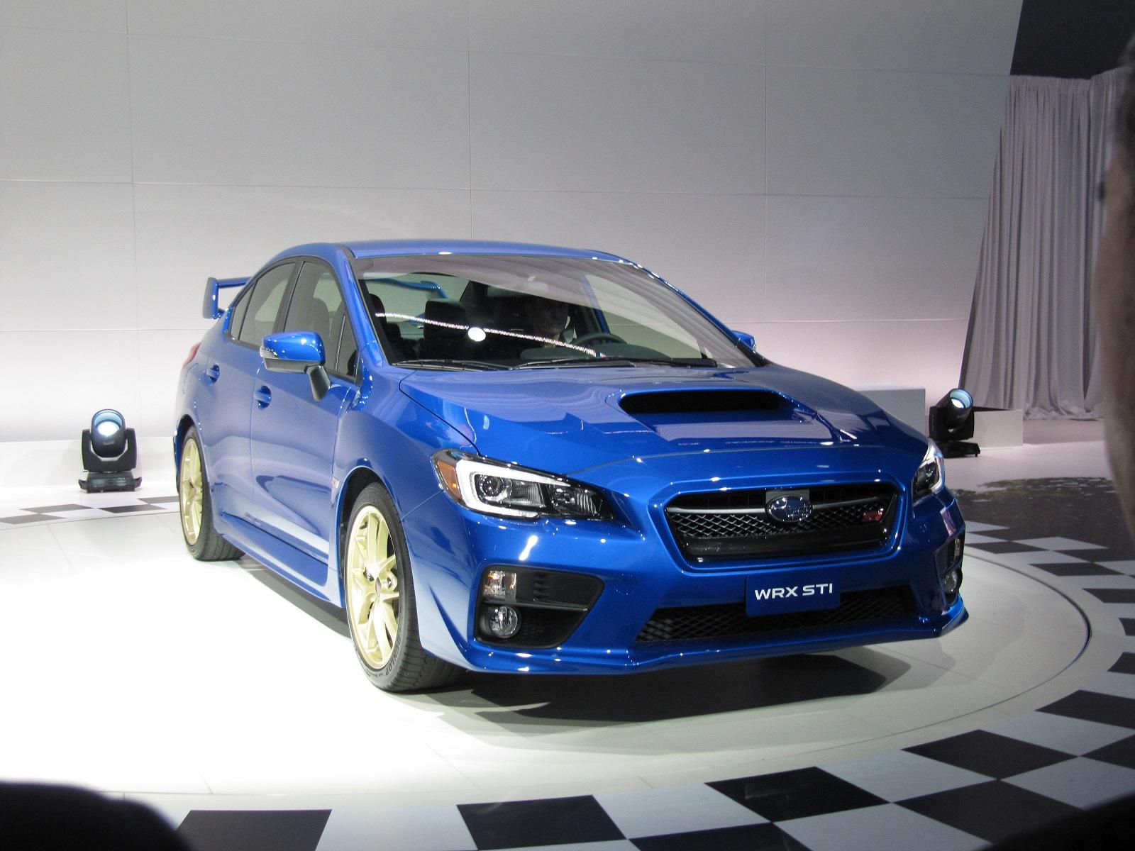 2015 Subaru WRX STI First Look: 2014 Detroit Auto Show Video