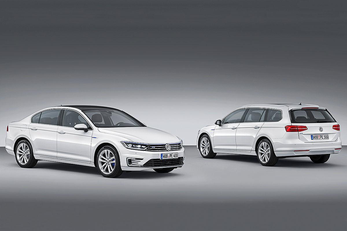 Volkswagen Passat Gte Plug In Hybrid To Appear At Paris Motor Show