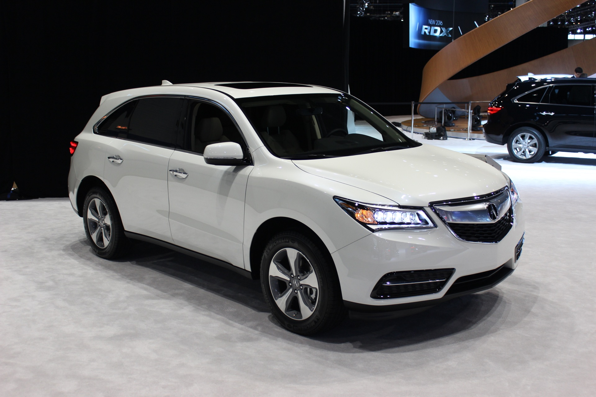 2016 Acura Mdx Gets Nine Sd Auto Available Electronic Driver Aids Live Photos
