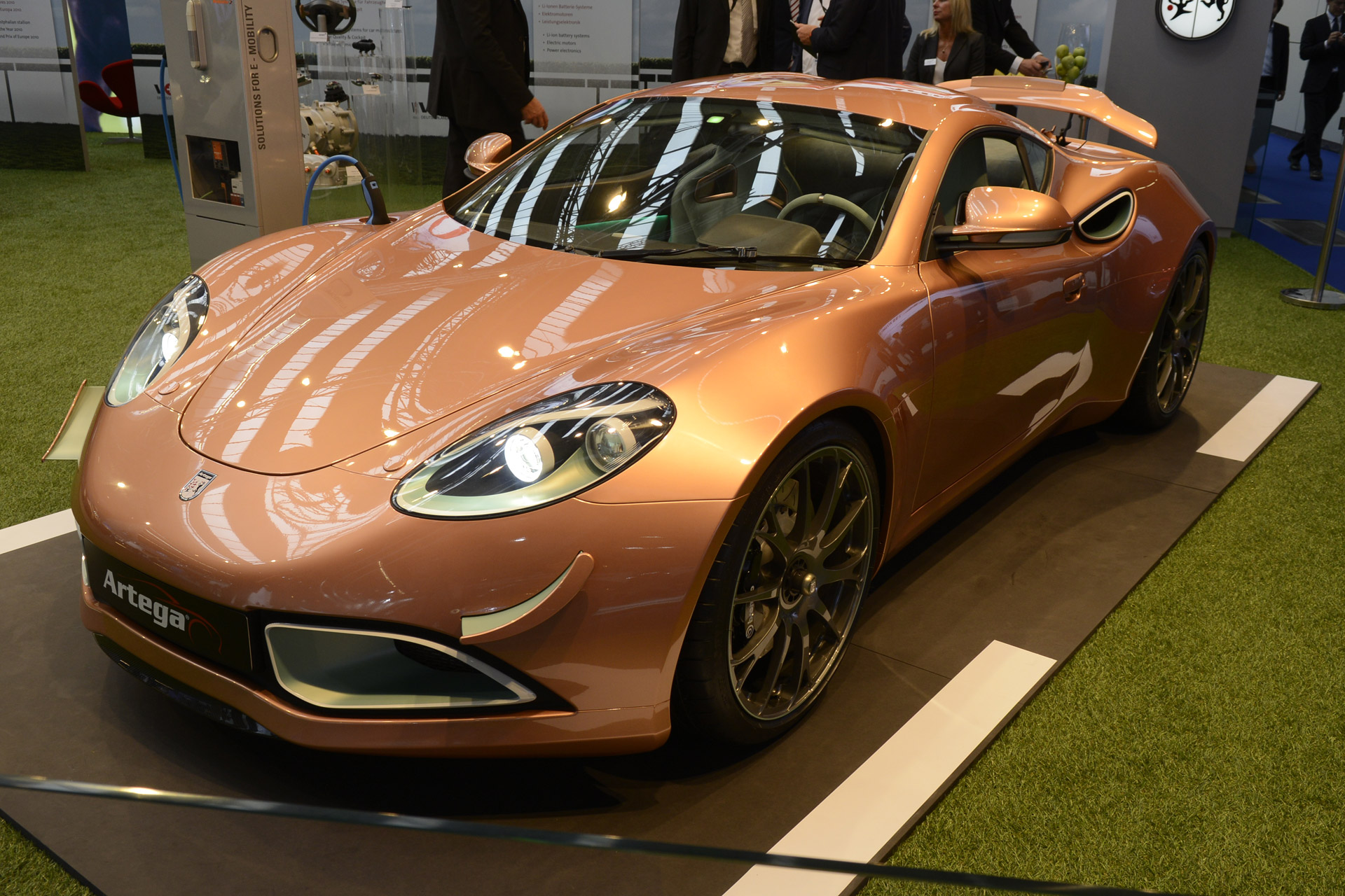Germany Cars: Germany's Artega Reborn As Electric Sports Car And