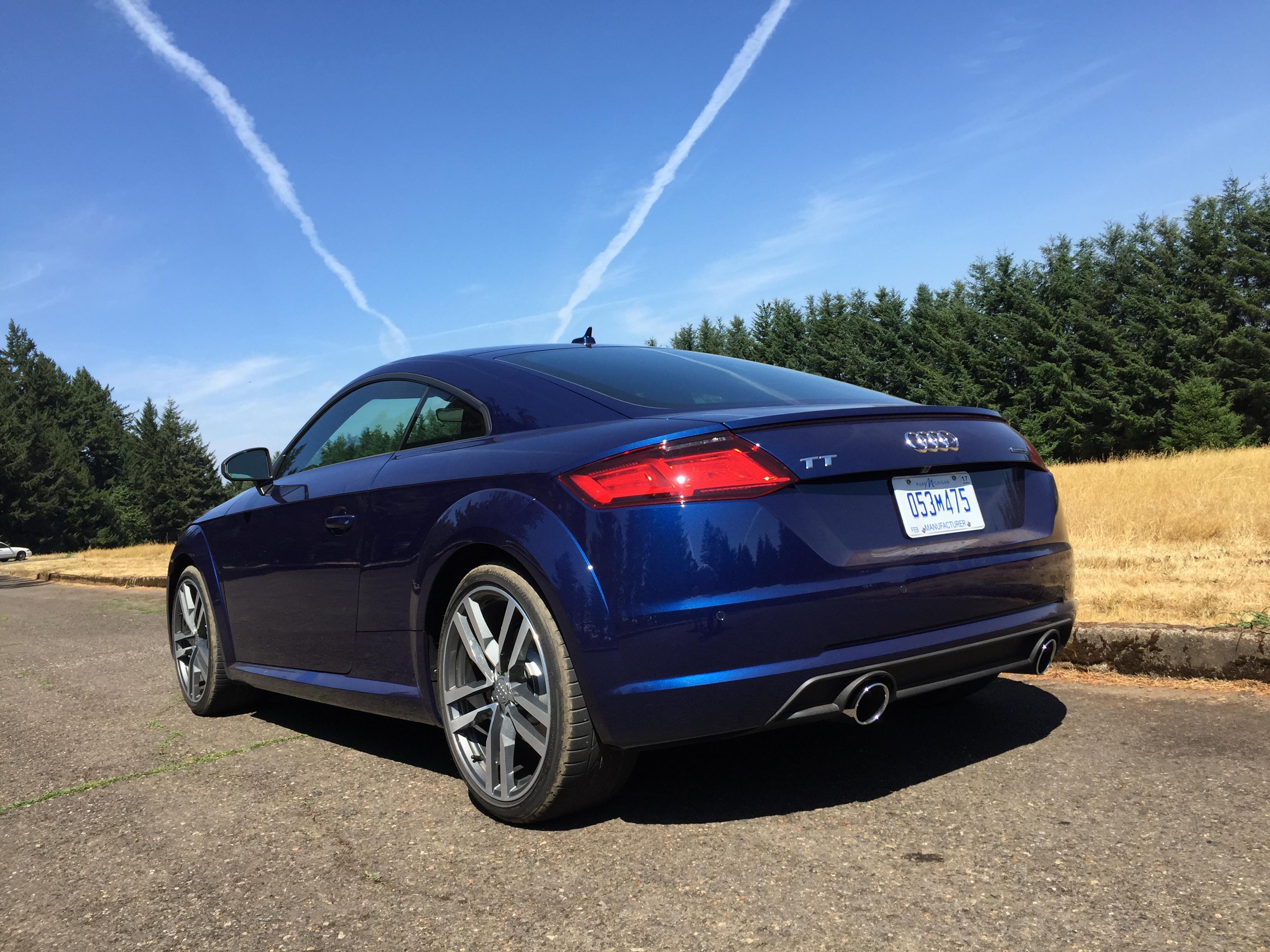 2016 Audi TT video review