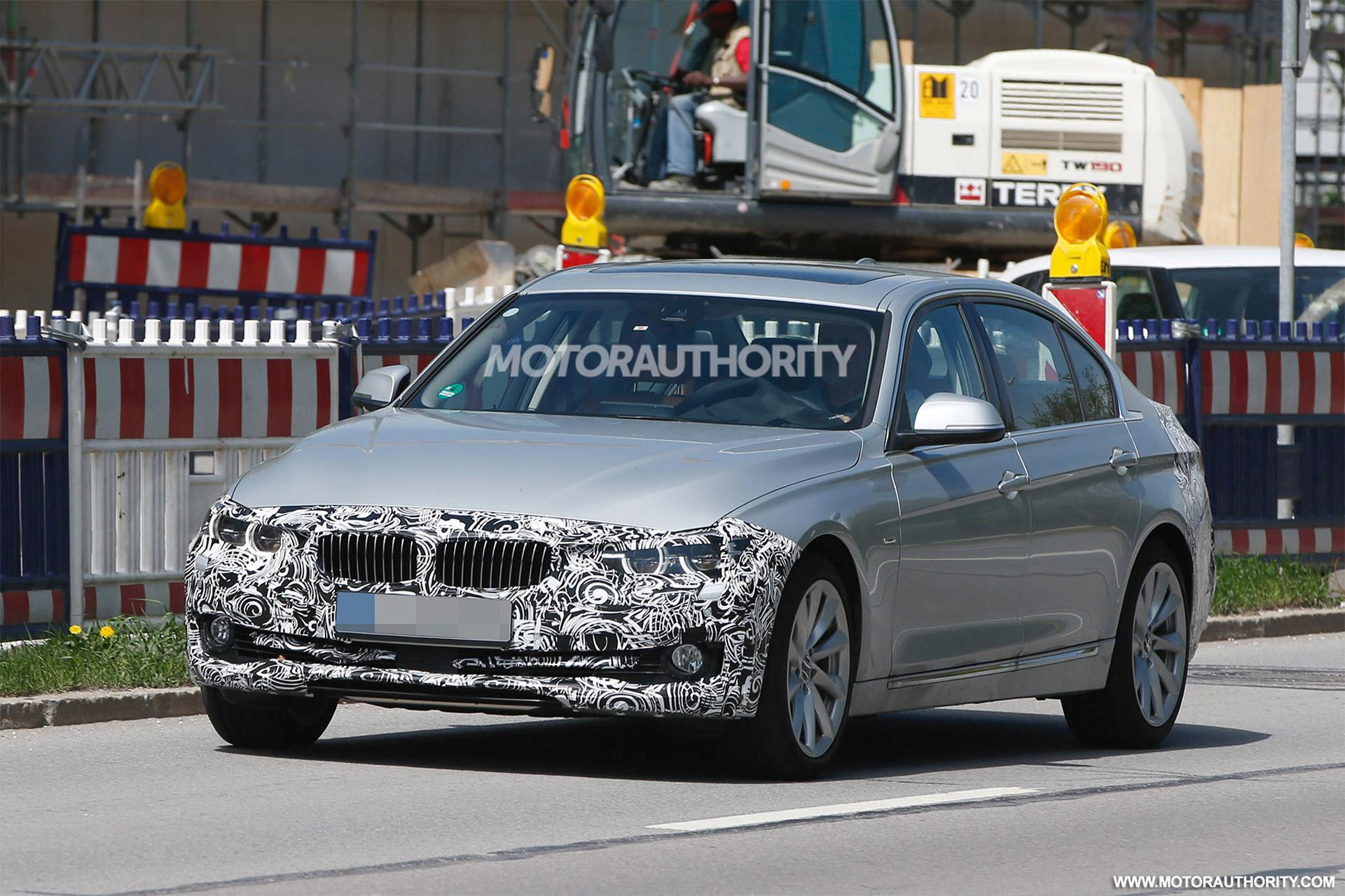2016 Bmw 3 Series Long Wheelbase Sedan Spy Shots