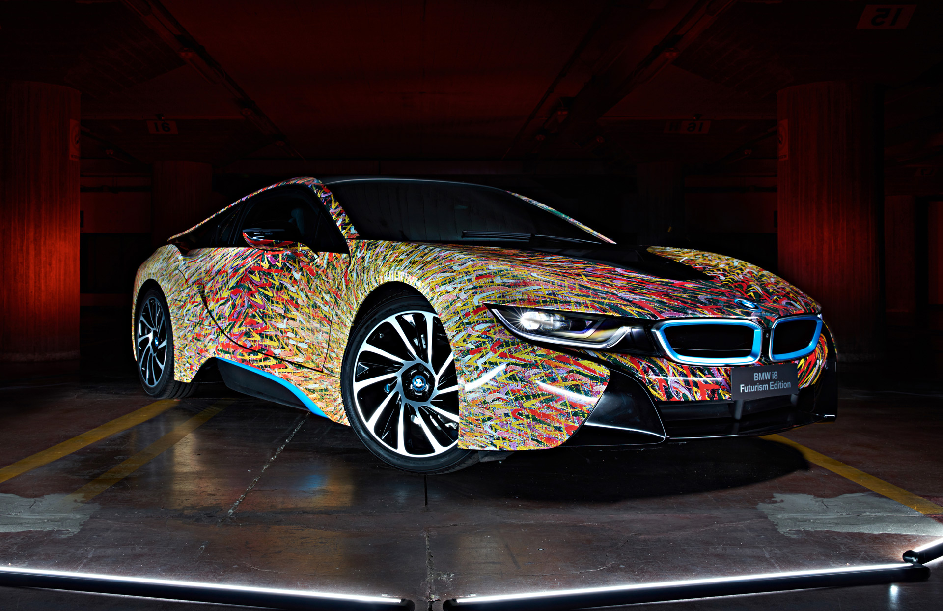 meet the bmw i8 worked over by lapo elkann s garage italia customs. Black Bedroom Furniture Sets. Home Design Ideas