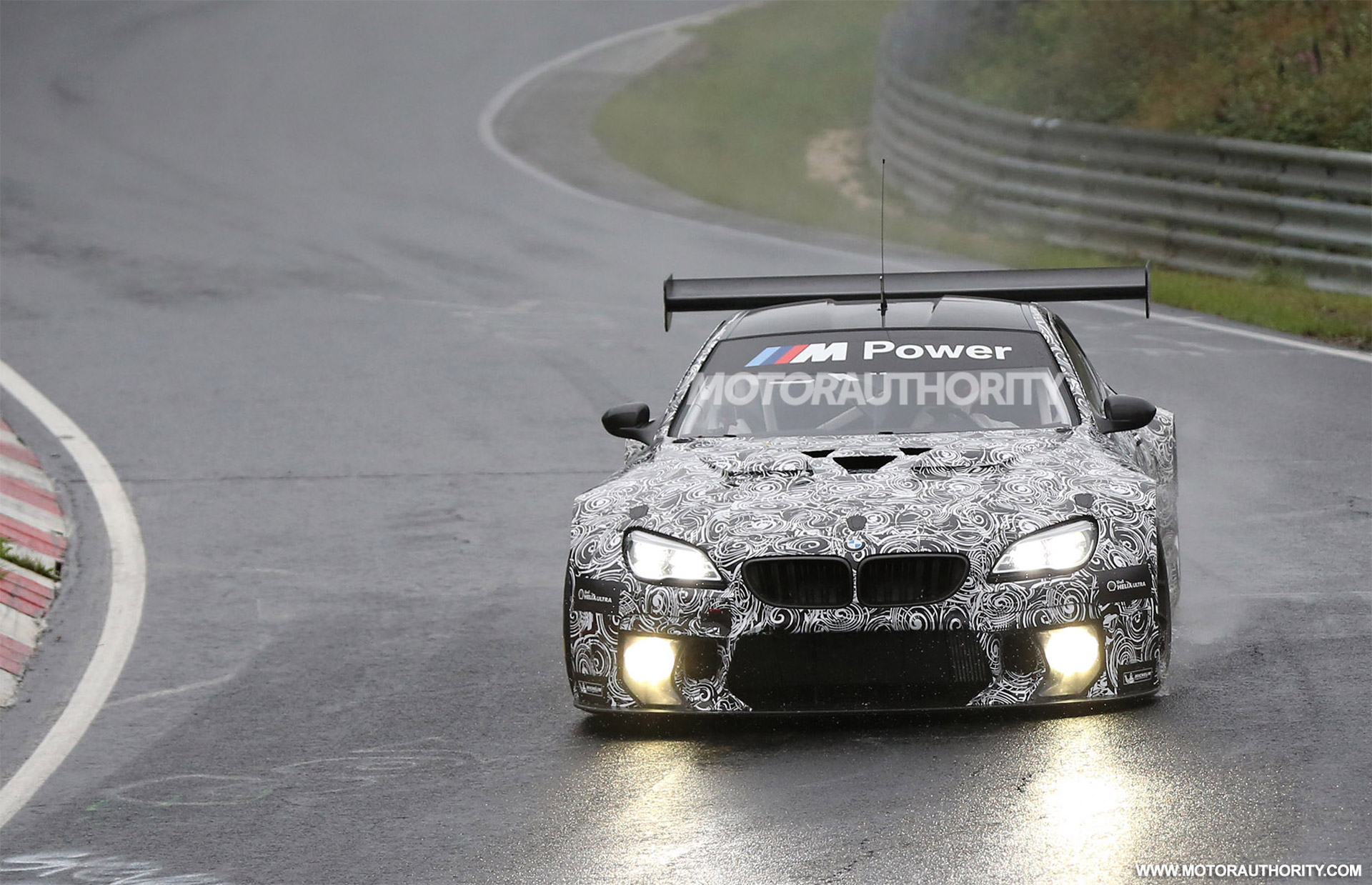 2016 BMW M6 GT3 Spy Shots And Video