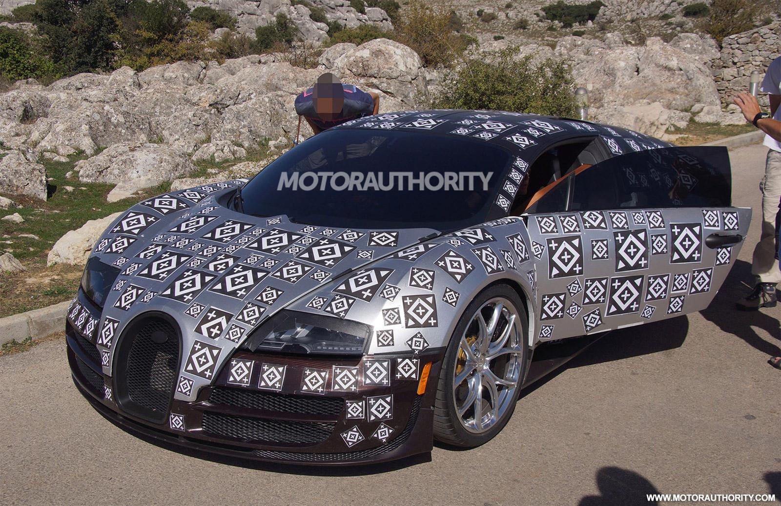 Bugatti Veyron Successor To Do 0-60 MPH In 2.0 Seconds: Report