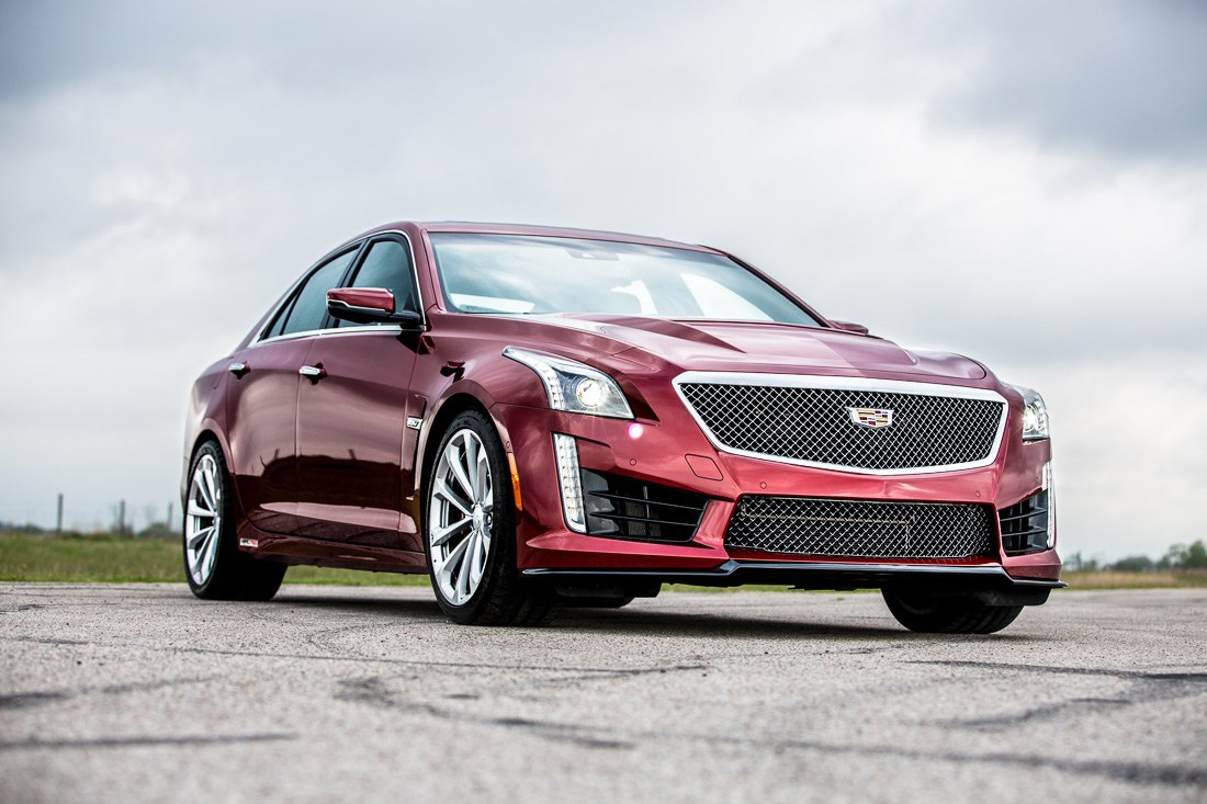Watch Hennessey put its 750-hp Cadillac CTS-V through its ...