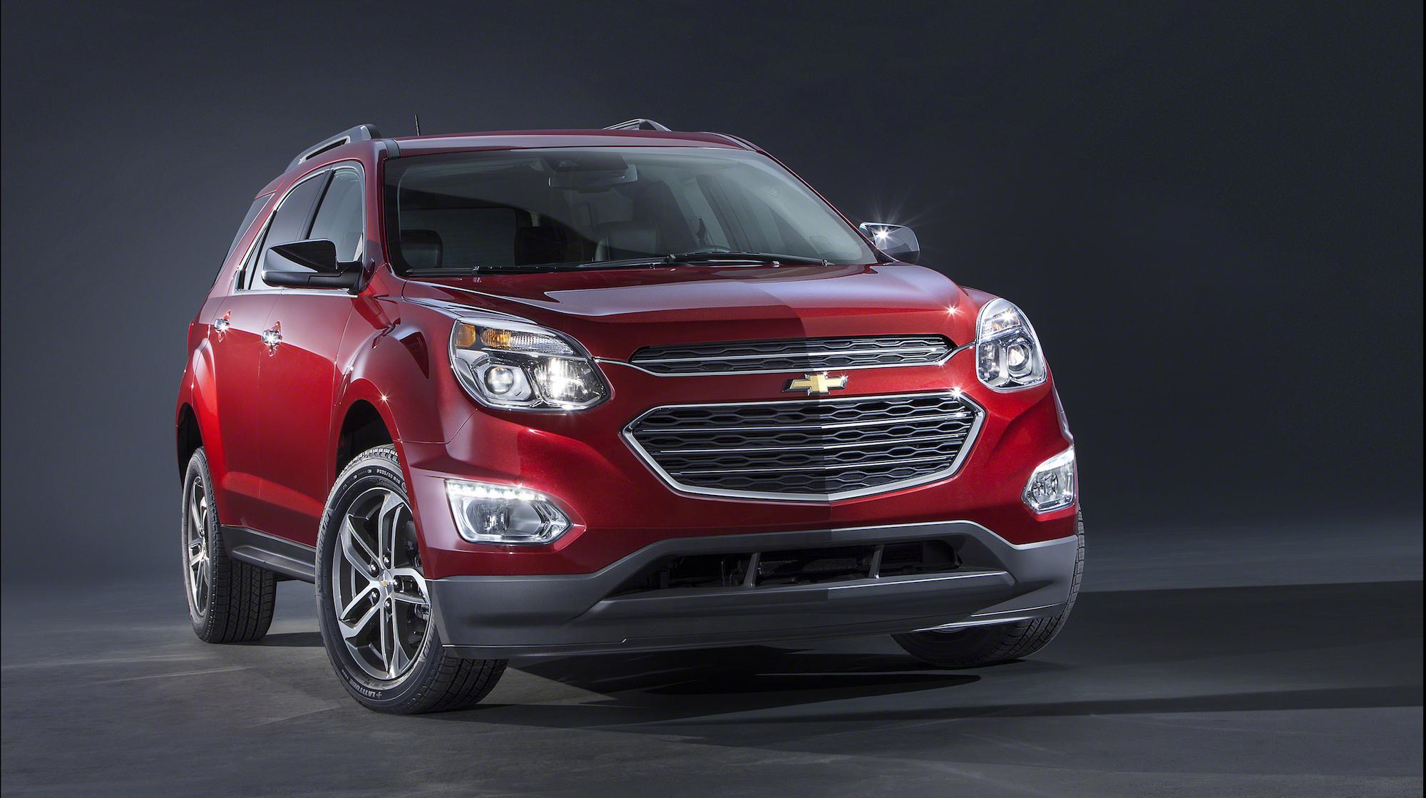 2016 Chevrolet Equinox Unveiled: 2015 Chicago Auto Show