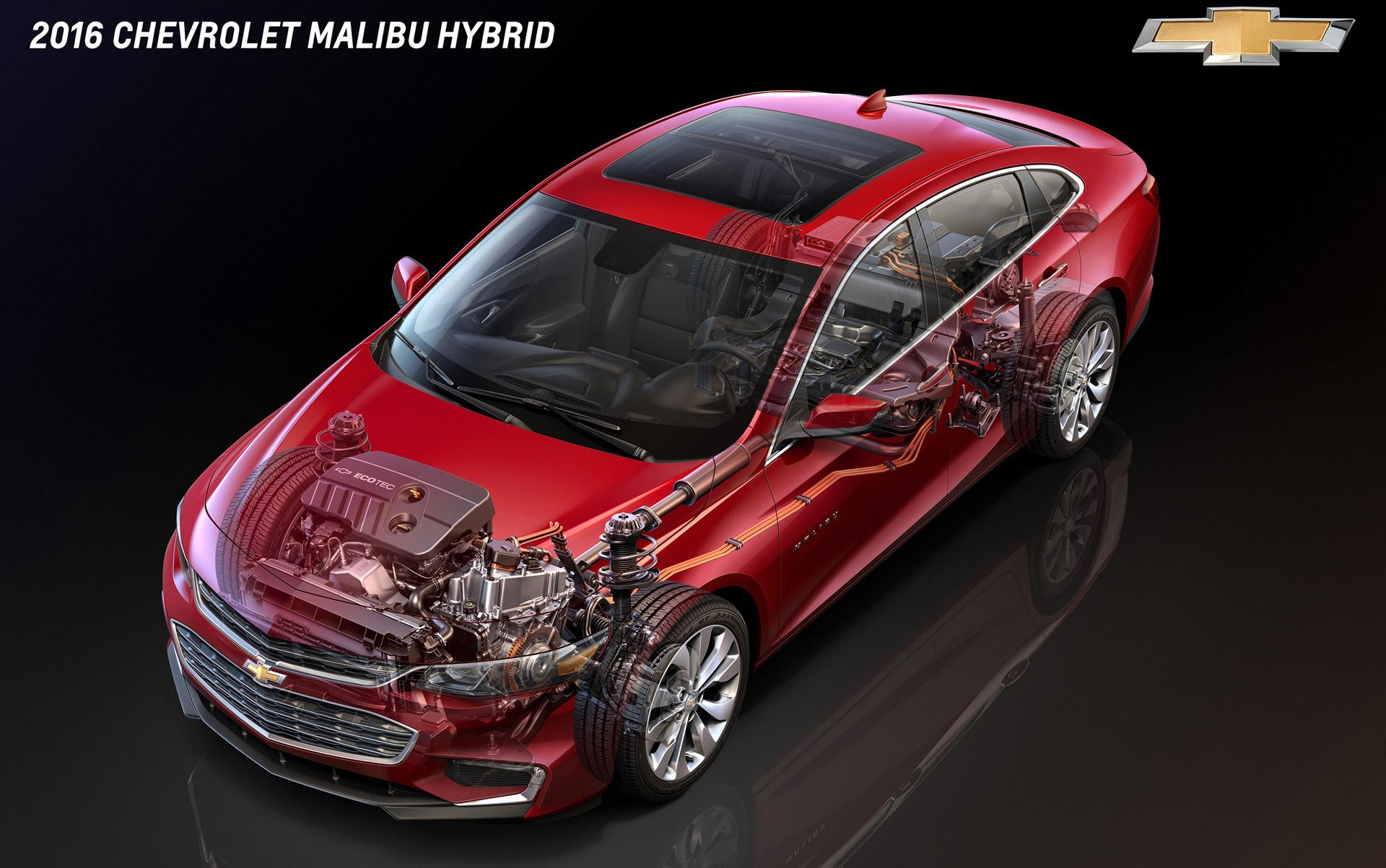 How Similar Are Chevy Volt & Malibu Hybrid Powertrains Very Much