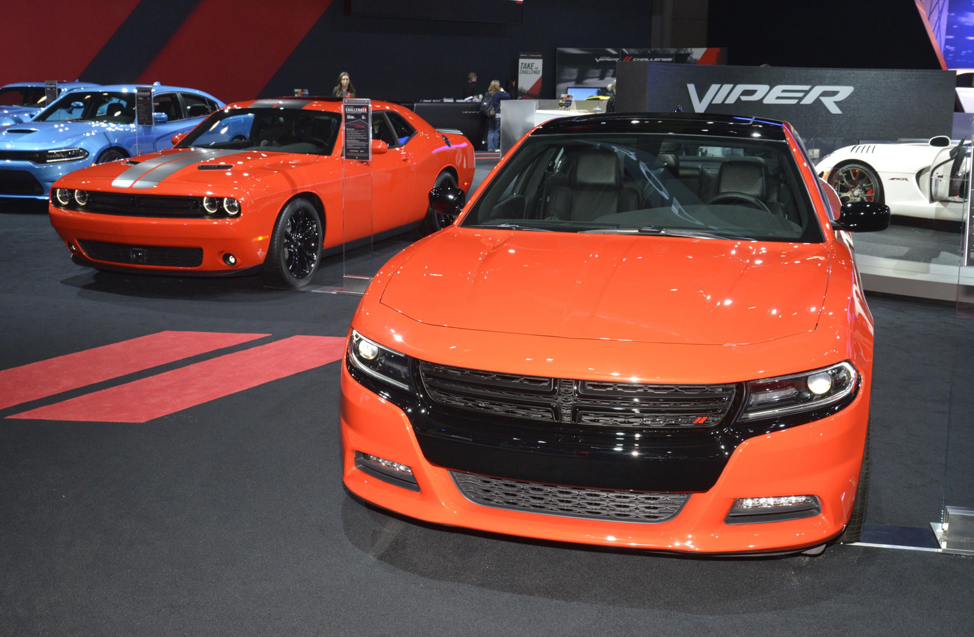 Dodge Expands Popular Go Mango Color To All Chargers