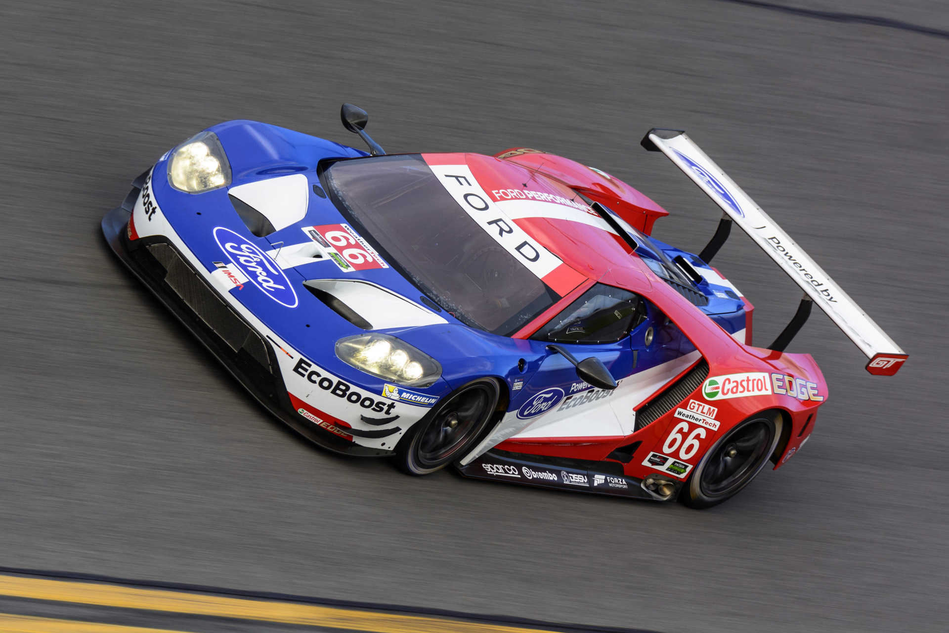 Ford GT Drivers For 2016 United SportsCar Championship Announced Video