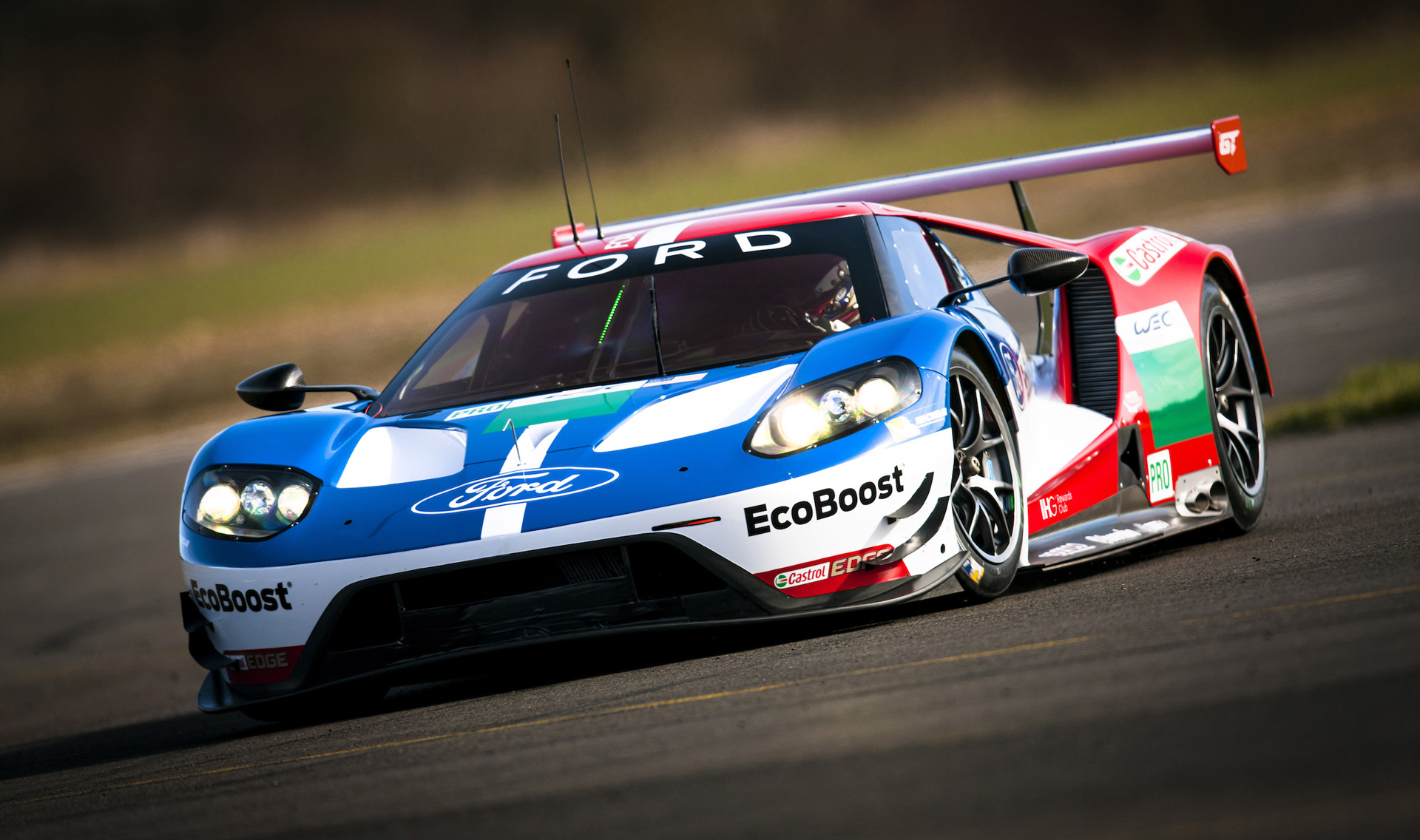 Ford reveals driver lineup for 2016 le mans return for Garage automobile le mans
