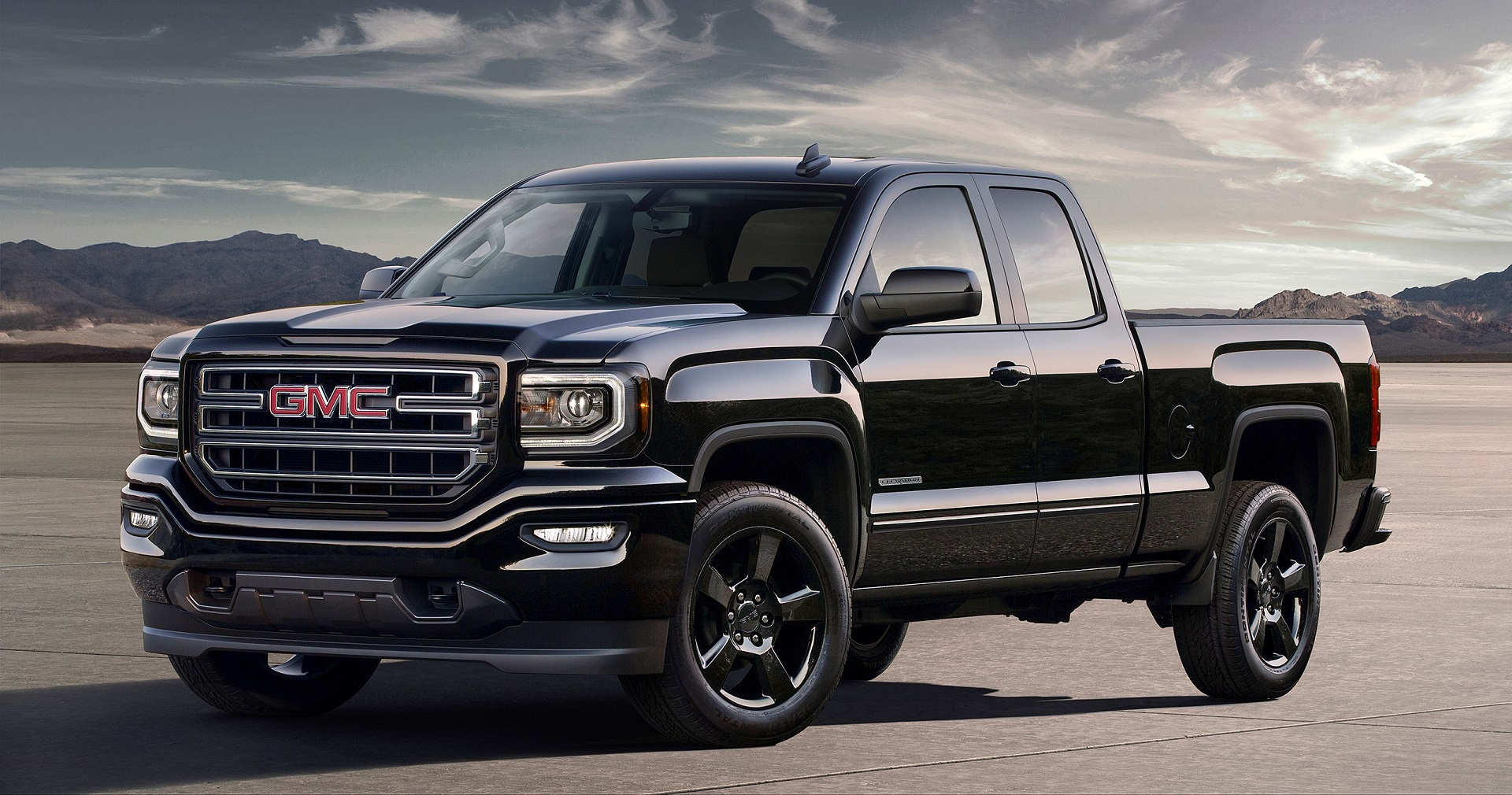 2016 gmc sierra elevation edition revealed. Black Bedroom Furniture Sets. Home Design Ideas