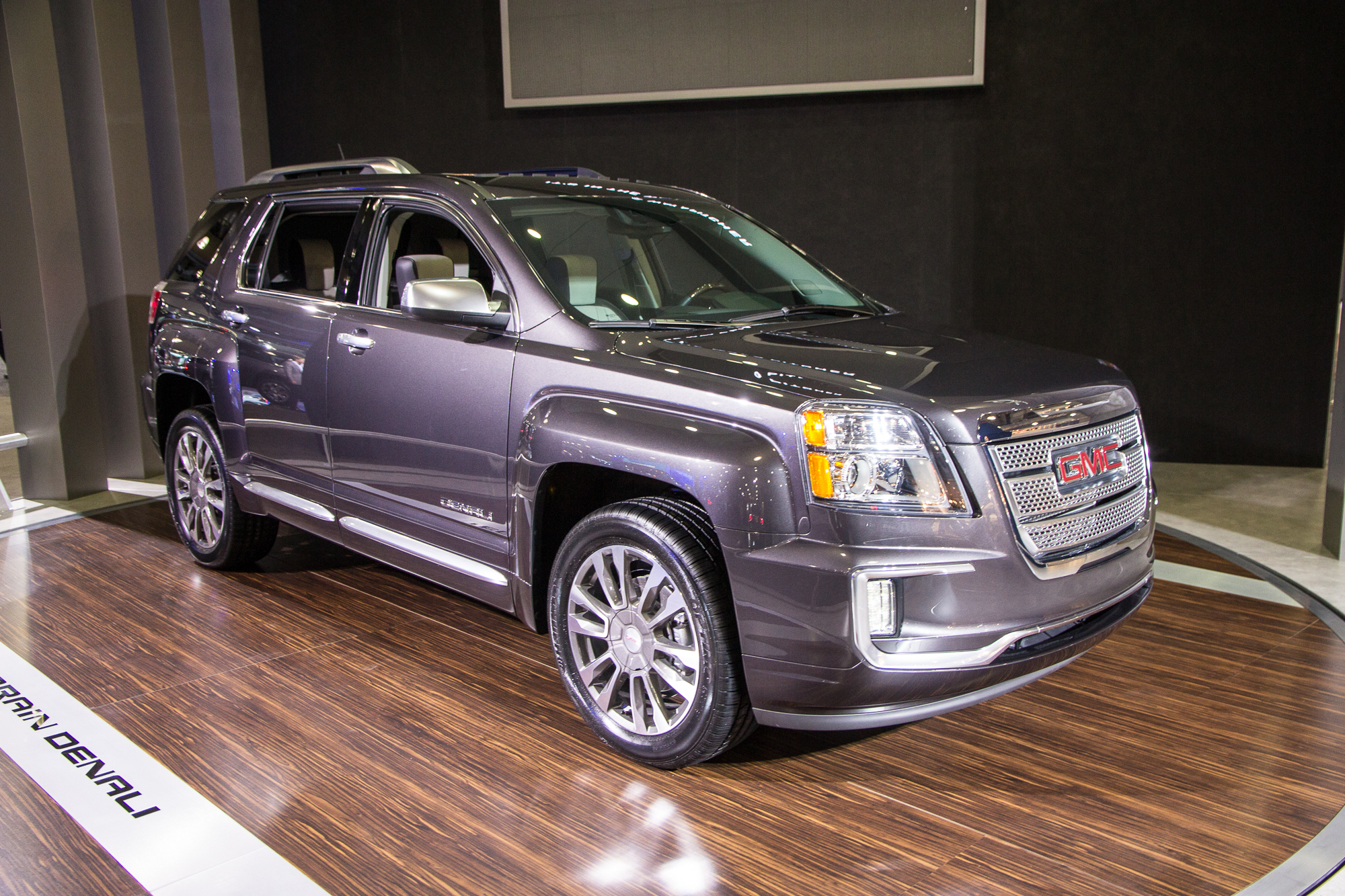 2016 Gmc Terrain Debuts At 2015 New York Auto Show Live