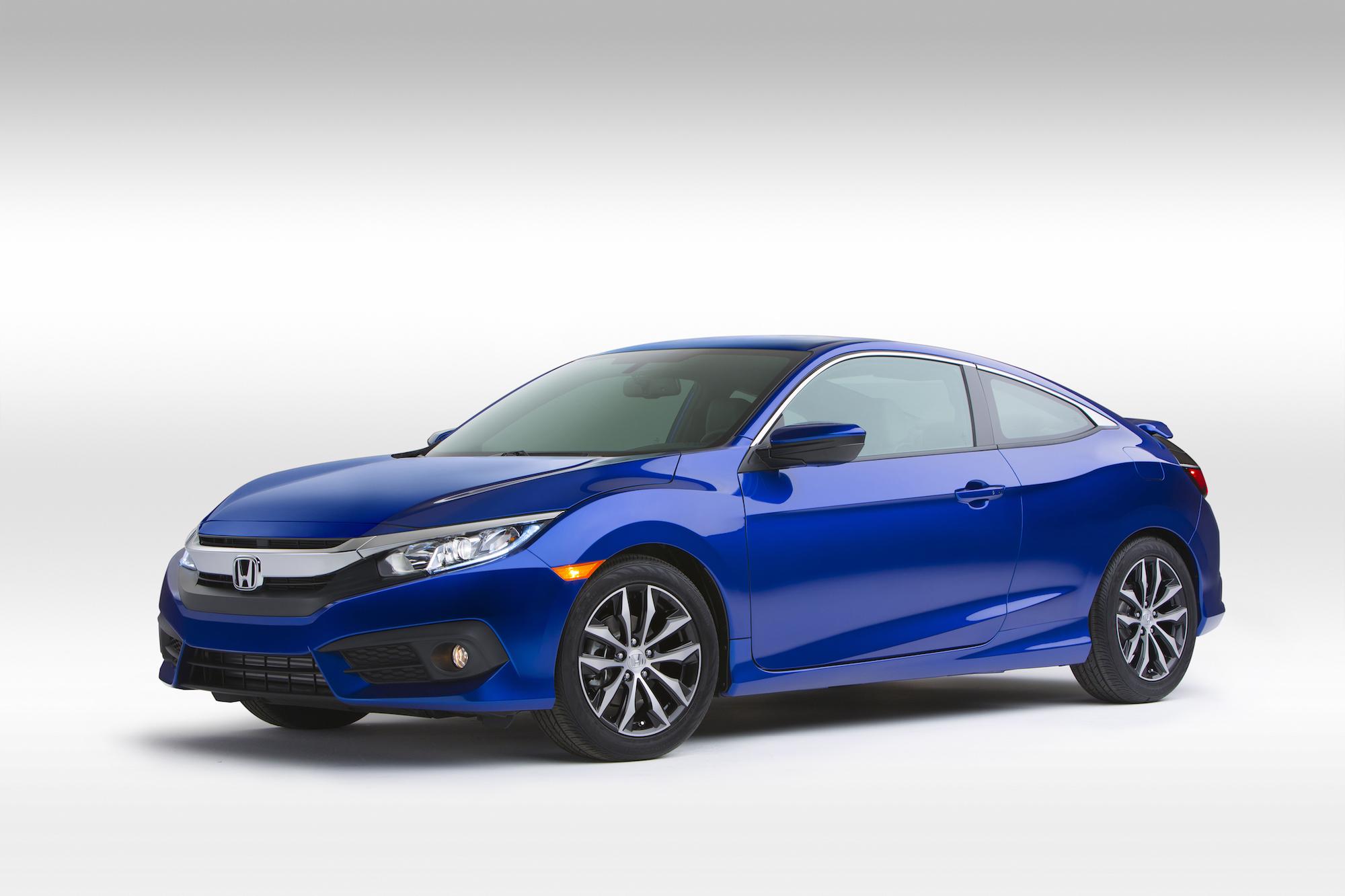 Honda Civic Miles Per Gallon >> 2016 Honda Civic Coupe Gas Mileage Equals Sedan S 35 Mpg